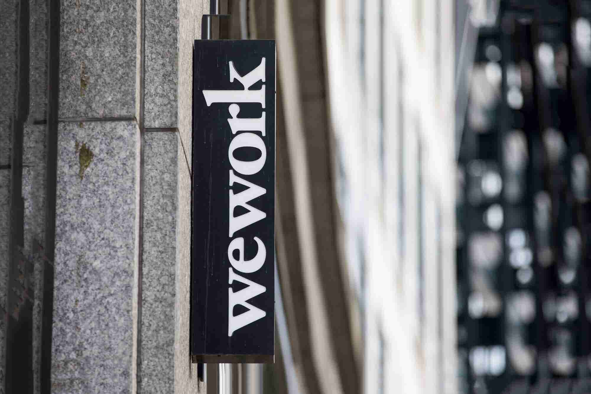 WeWork Opens a Startup Incubator