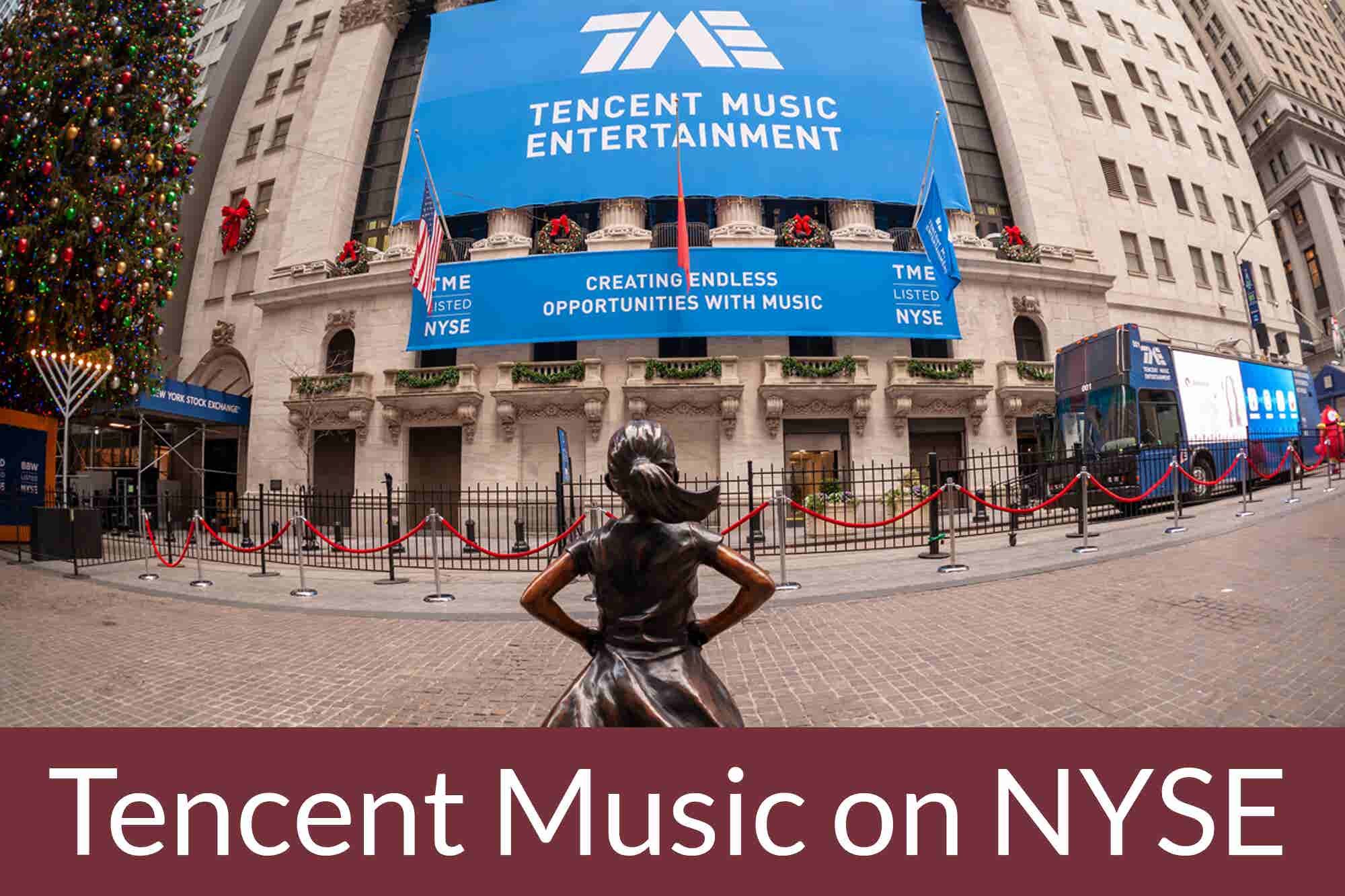 Friday Flashback: Tencent Music Targets Spotify by Debuting on NYSE