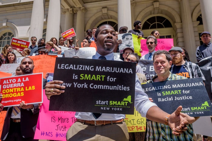 Stewart-Cousins says marijuana convictions should be expunged