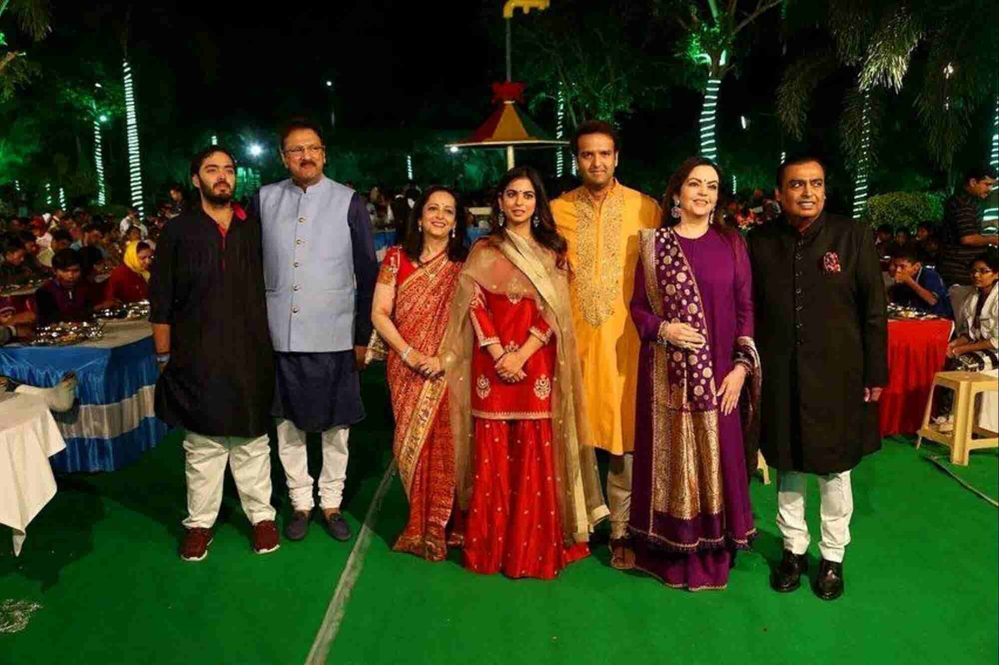 A Look at the Wedding that United the Business, Political and the Entertainment World like Never Before!