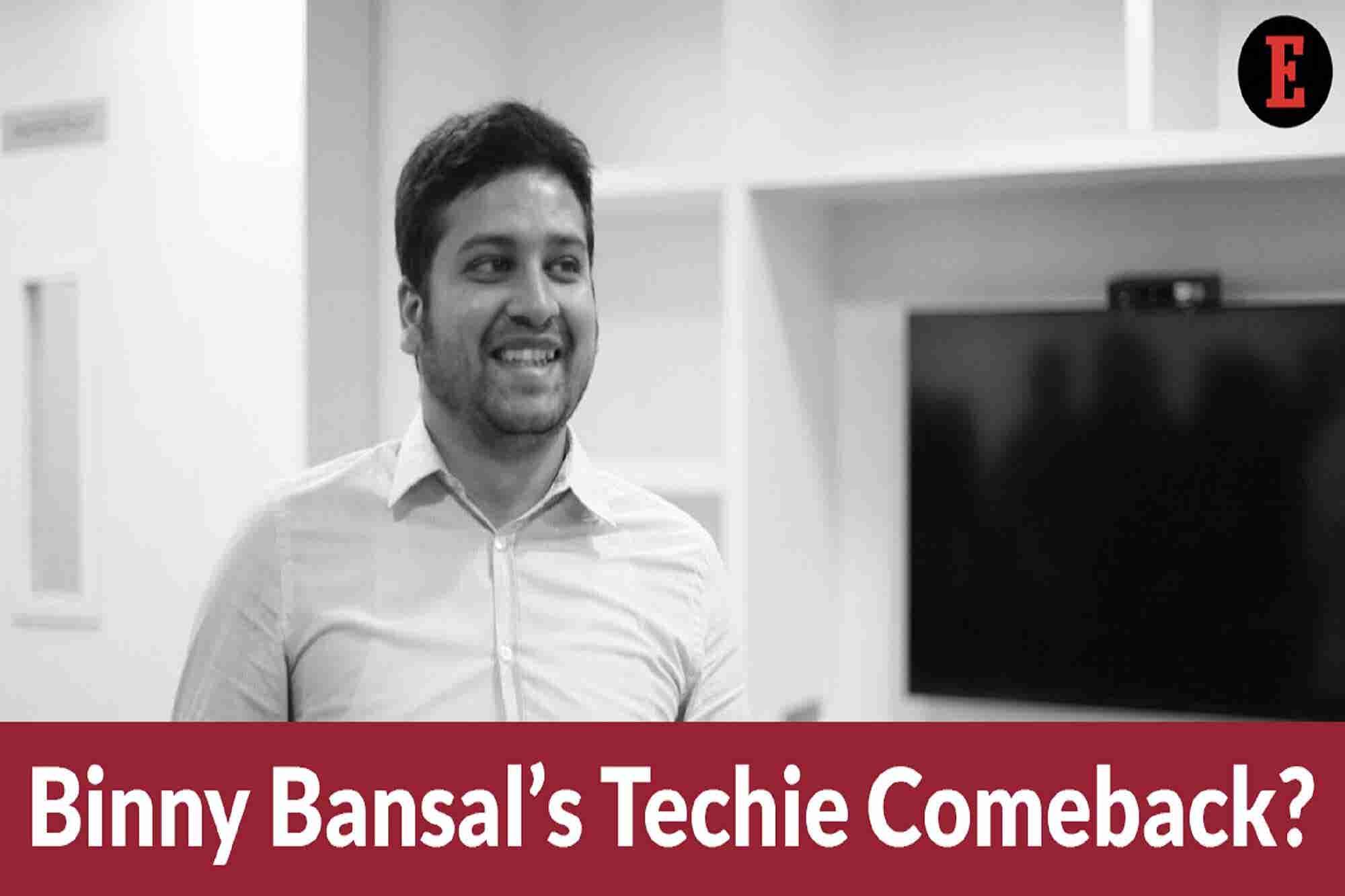 Startup Saturday: New Beginnings for Binny Bansal & Zomato's Tamper-proof Plan