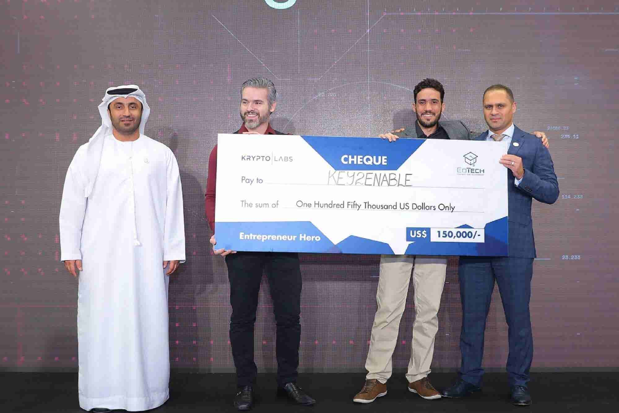 Brazil's Key2Enable Wins The EdTech Innovation Startup Competition 2018 by Krypto Labs