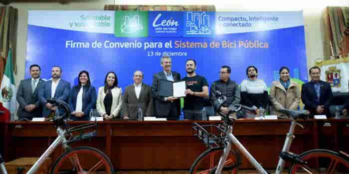 Mobike continúa con su expansión y llega a León, Guanajuato