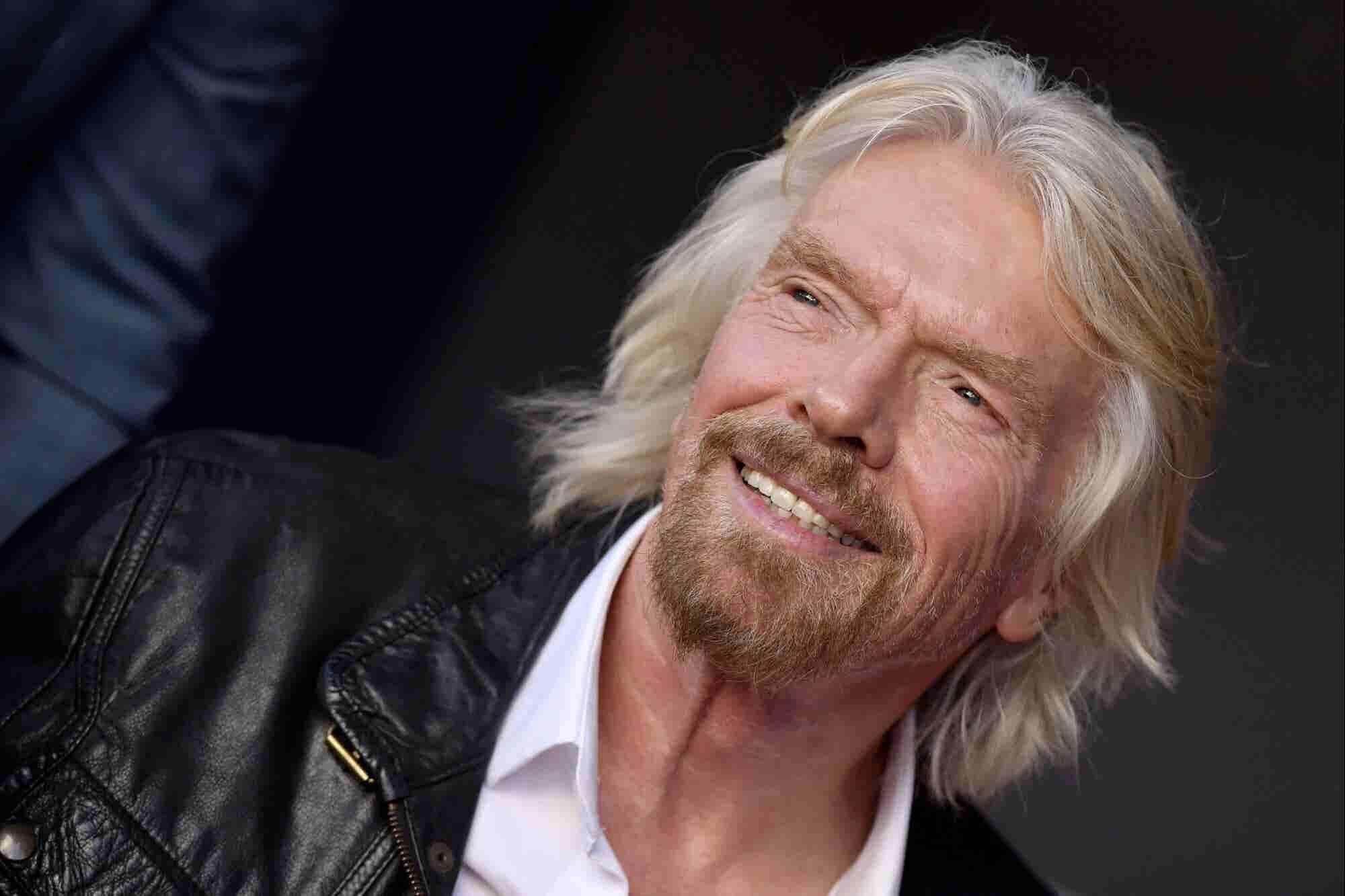 Richard Branson dice que los fines de semana deberían de ser de 3 o 4 días