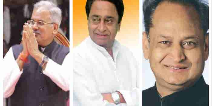 Looks Like Congress is Finally Making a Comeback with 3 New Chief Ministers