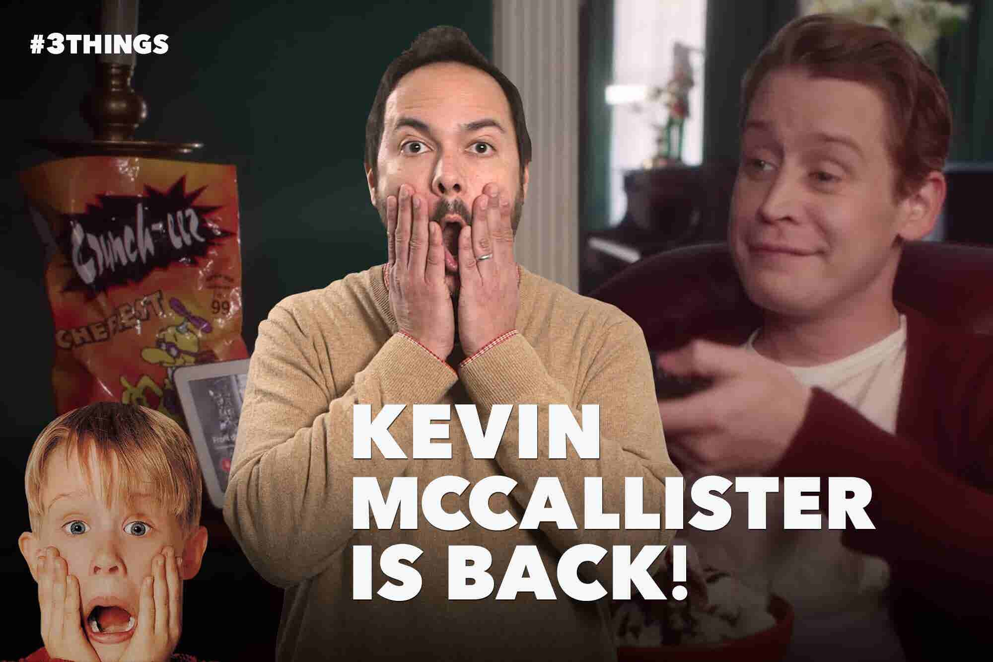 Macaulay Culkin Shills for Google, the 'Brady Bunch' Reunites, and It's Time to Talk Salary (60-Second Video)