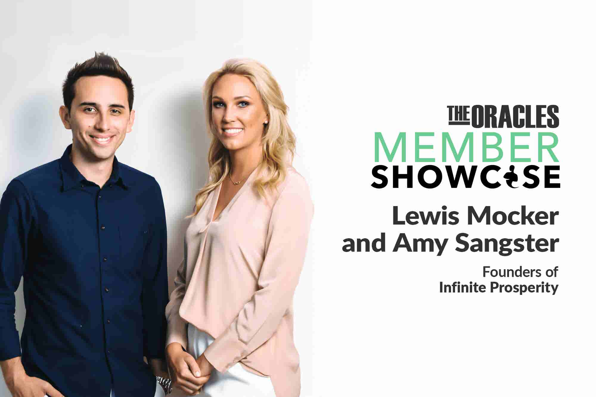 How Lewis Mocker and Amy Sangster Went from High School Friends Interested in Finance to Teaching Thousands to Build Wealth
