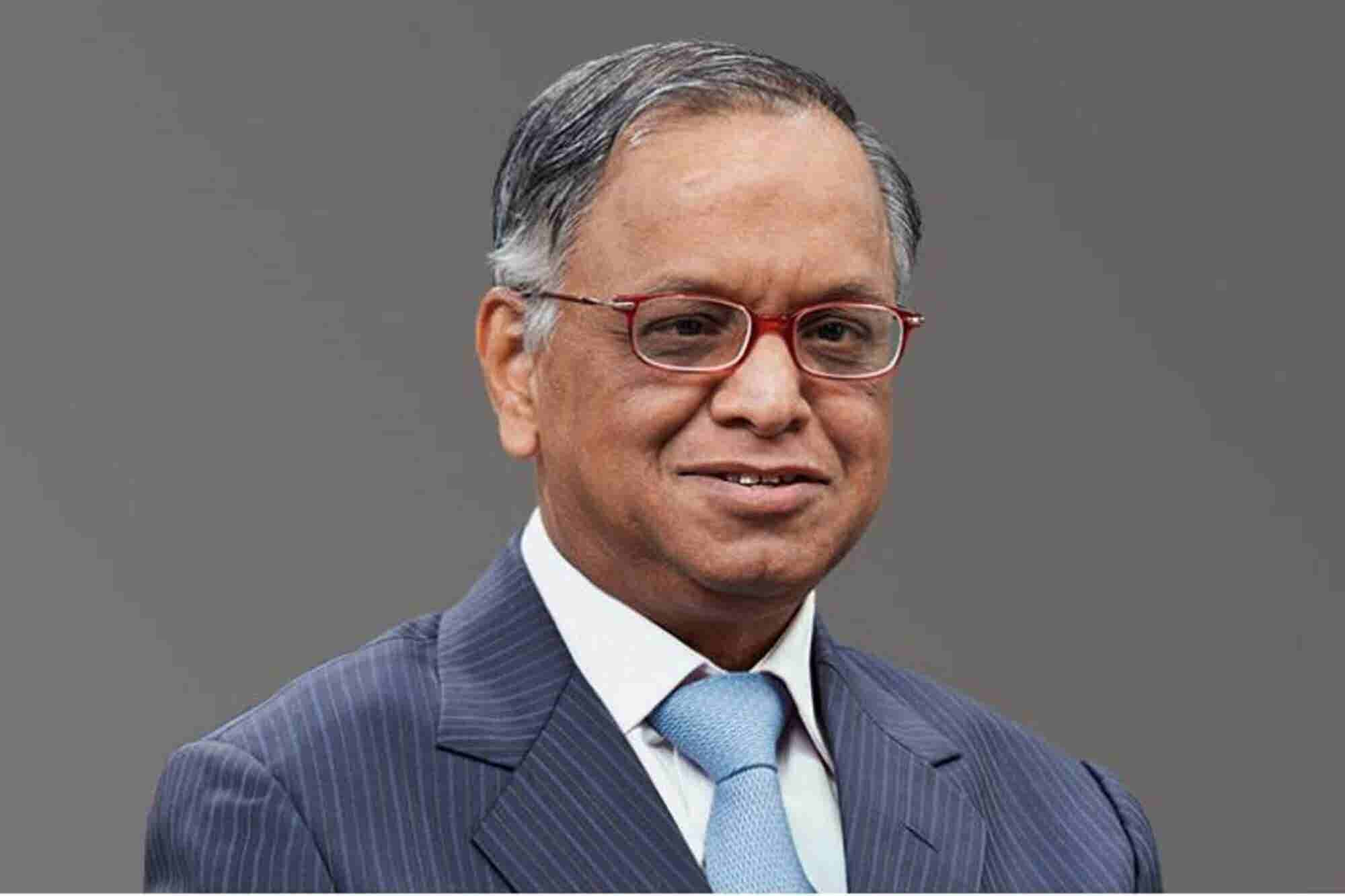 Infosys' Founder Narayana Murthy Shares What Successful Entrepreneurs Are Made Up Of