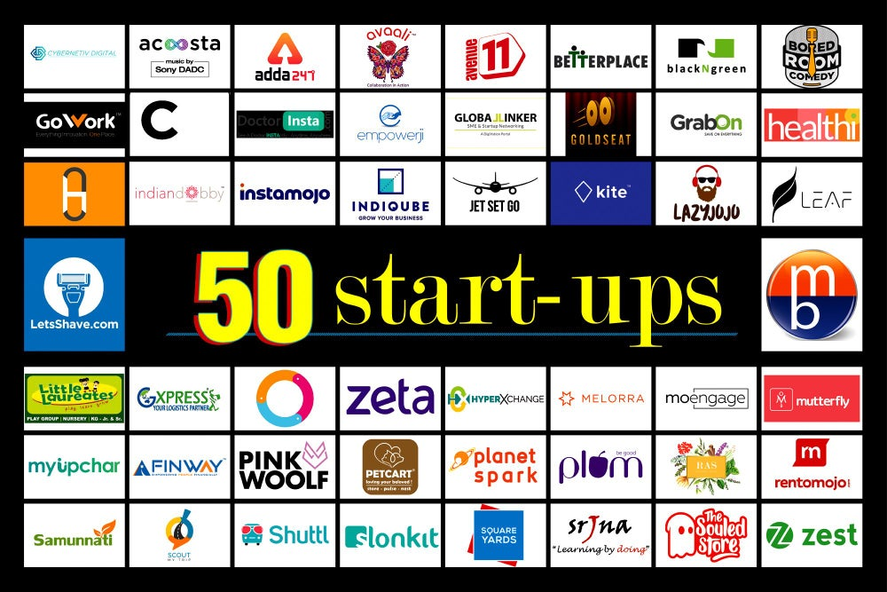 50 Start-ups to Look Out for in 2019