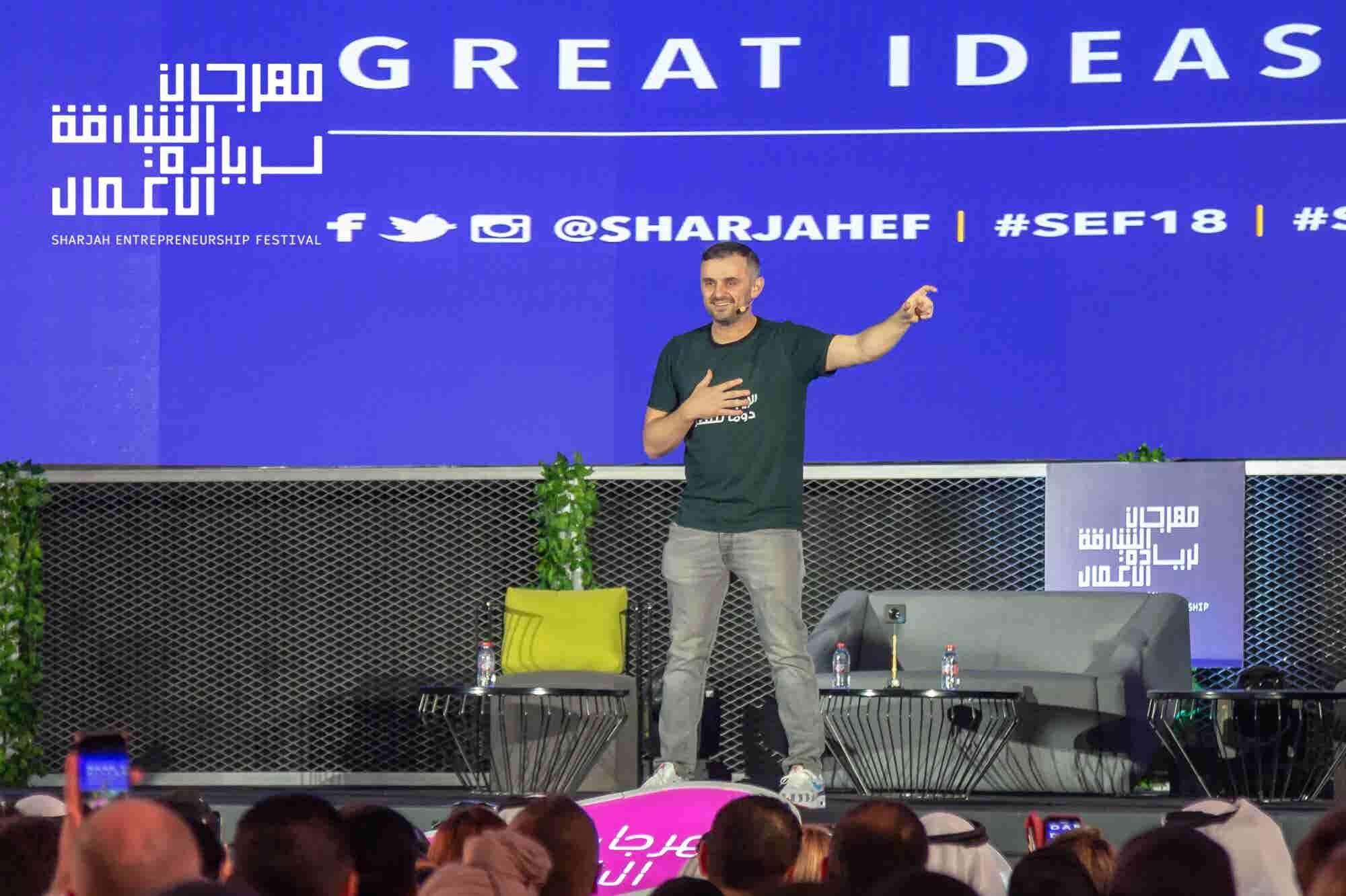 Stepping Up: Serial Entrepreneur Gary Vaynerchuk