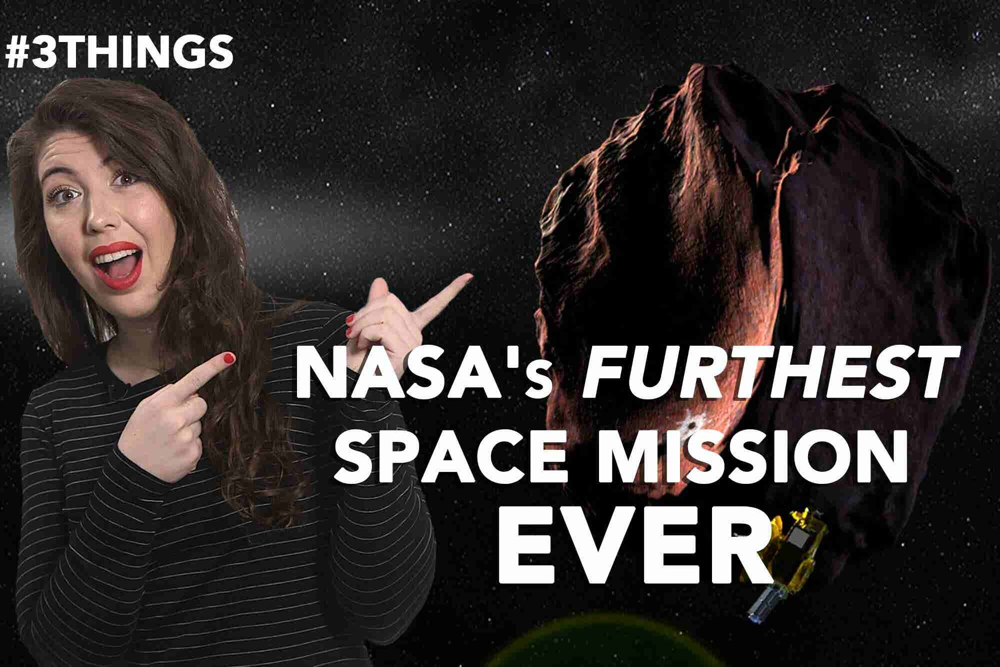 NASA's Furthest-Ever Space Mission, Google's FCC Green Light and Airline Mistake Fares. (60-Second Video)