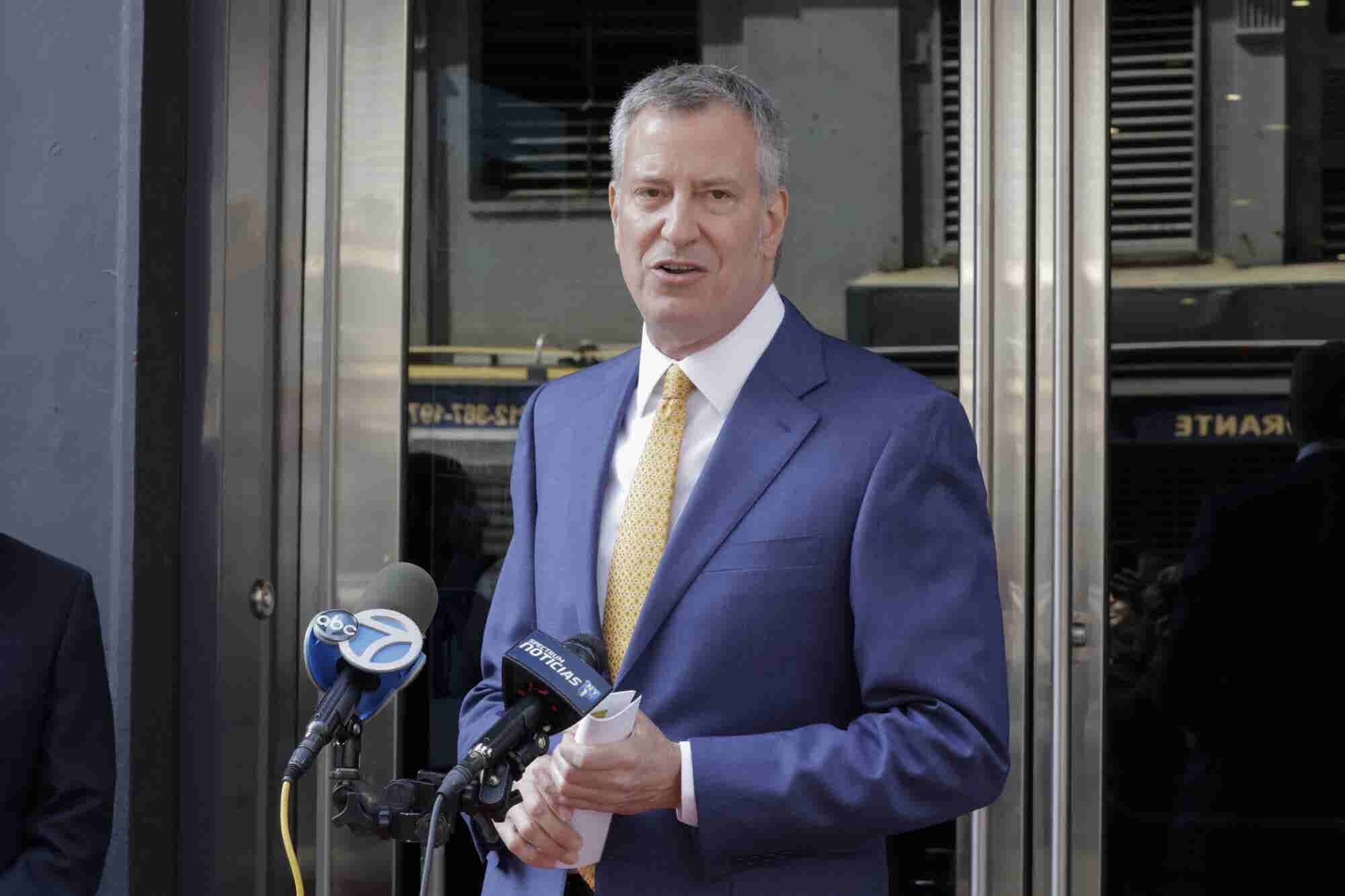 Inside Mayor de Blasio's Vision for Legal Cannabis in New York City
