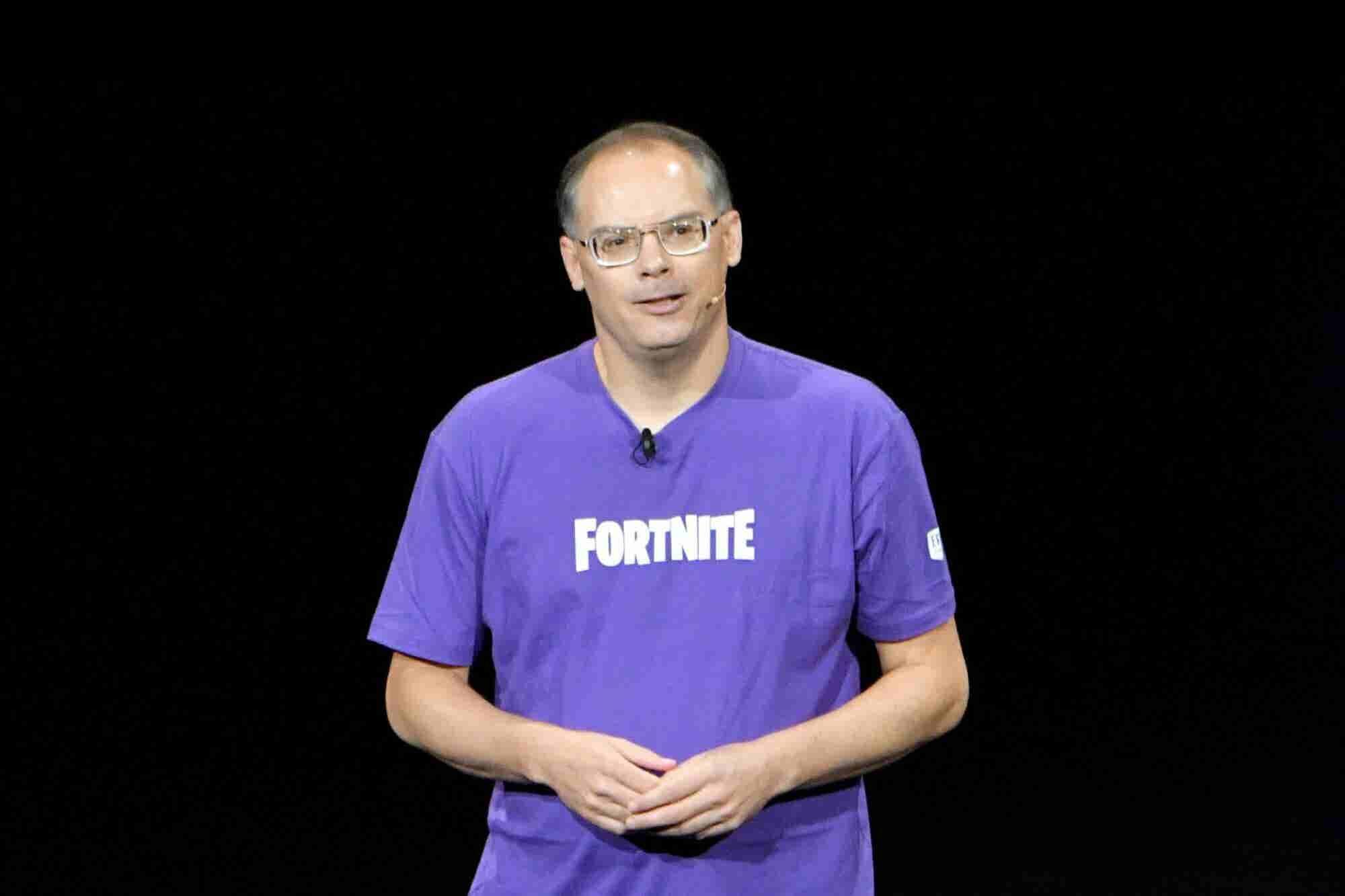 El CEO detrás del popular videojuego 'Fortnite' ahora vale más de 7 mil millones de dólares