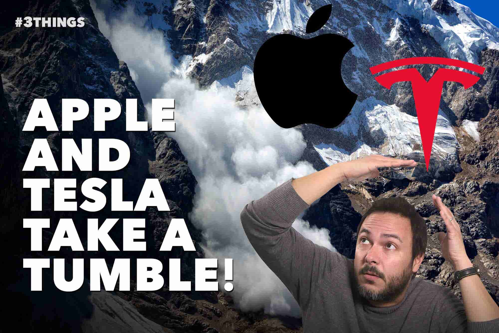 Apple and Tesla Stocks Get Hit, China Lands on the Dark Side of the Moon, and Time to Ditch Your Smartphone? (60-Second Video)