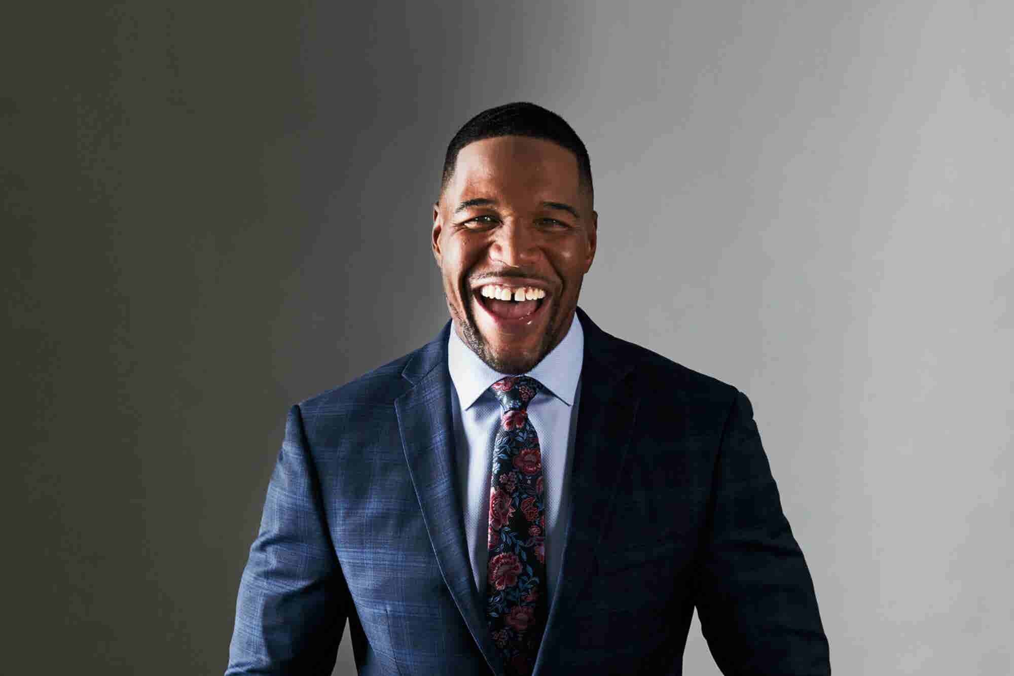 How Michael Strahan Took Control of His Post-Football Career