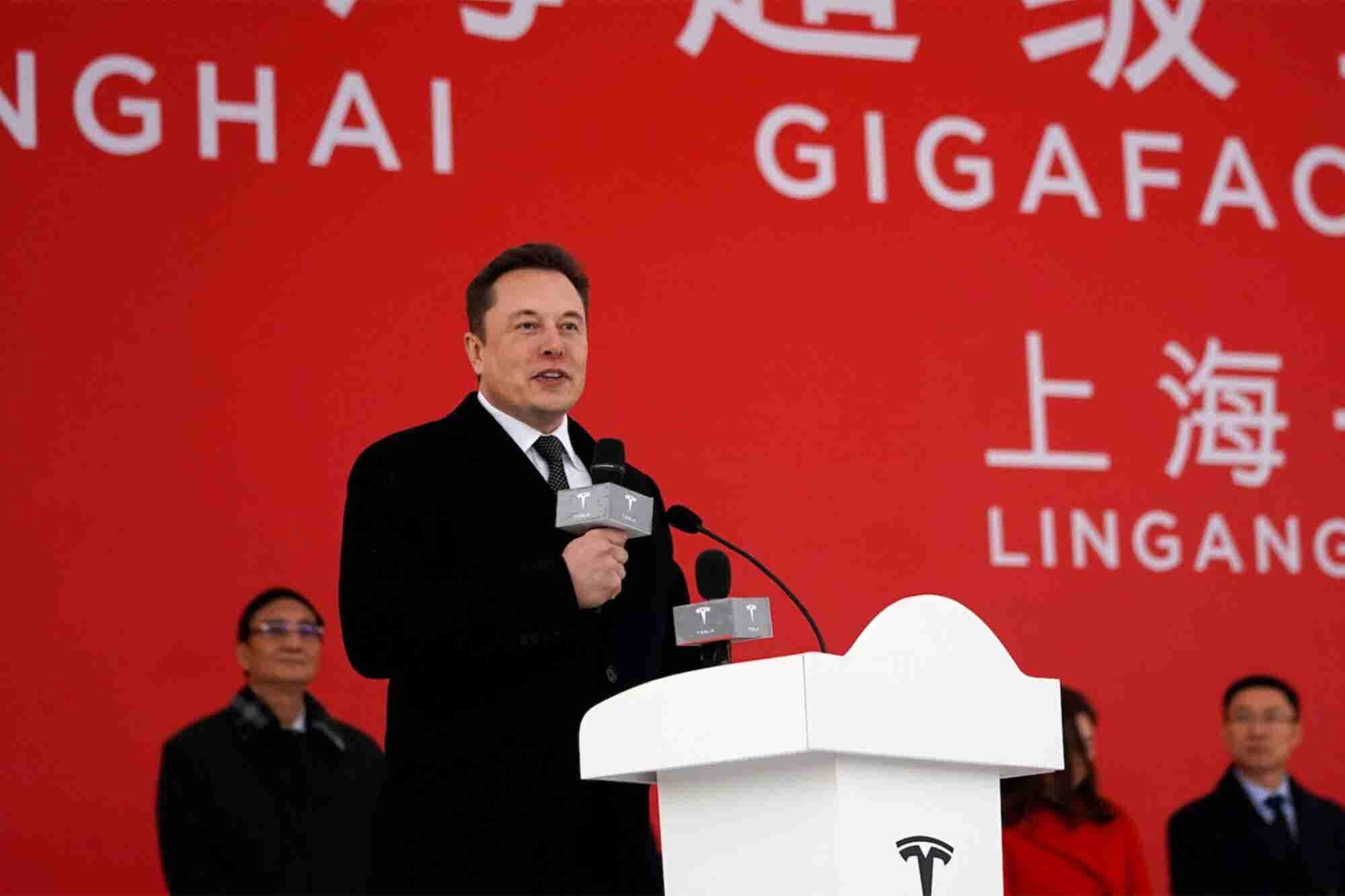 Elon Musk Has Started Building a Tesla Gigafactory in China, and It Co...