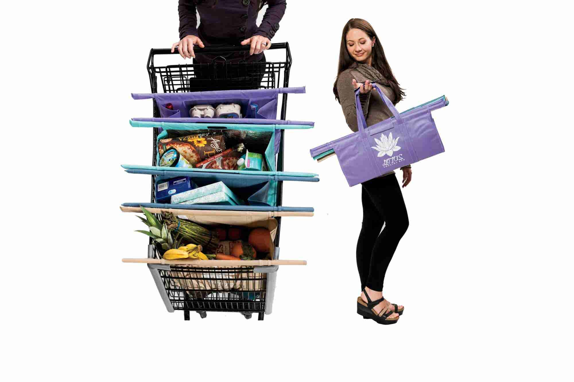How One Bag Fits Every Shopping Cart