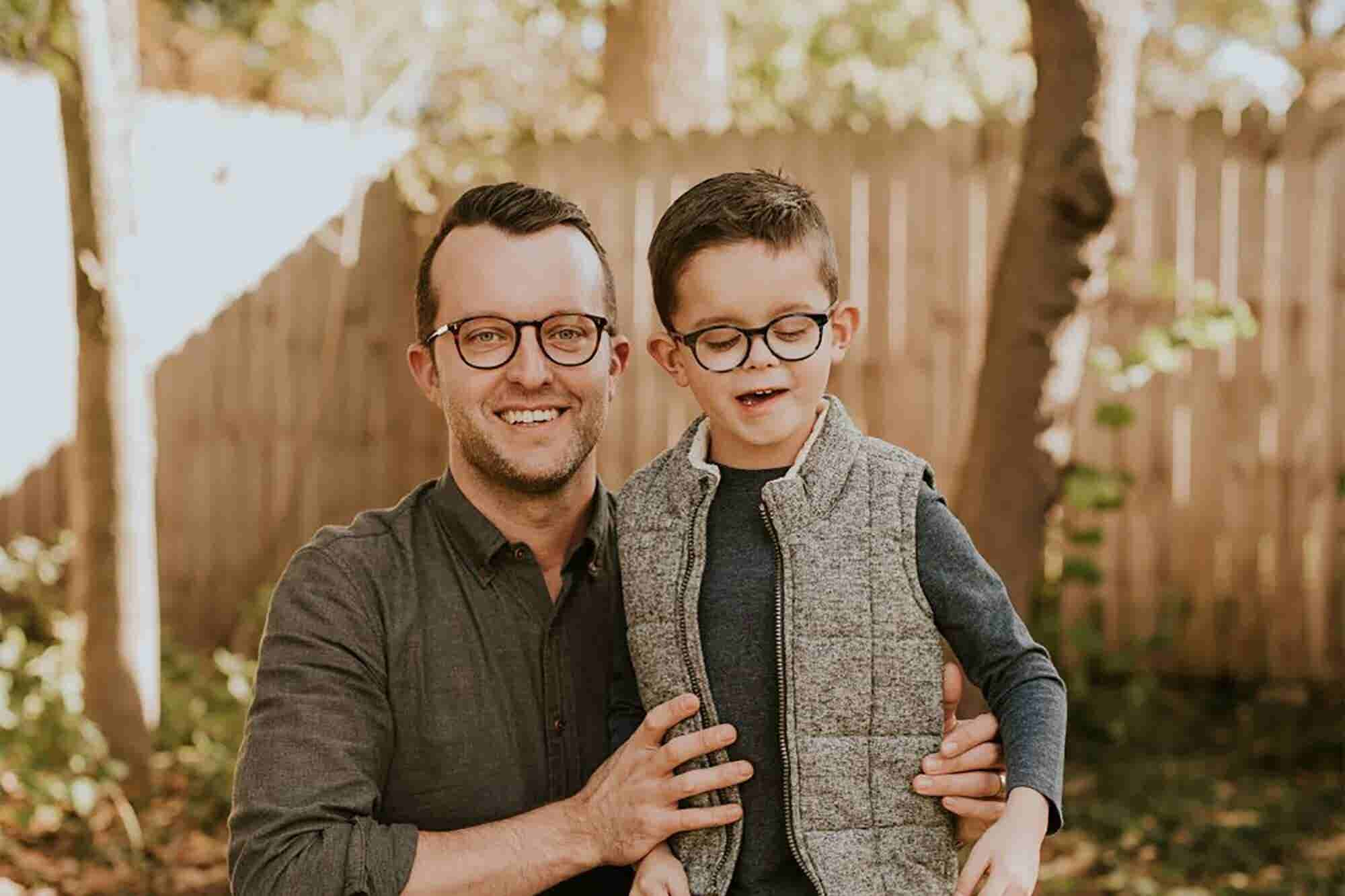 When Our Son Was Born Nearly Blind, We Started an Eyeglass Business fo...