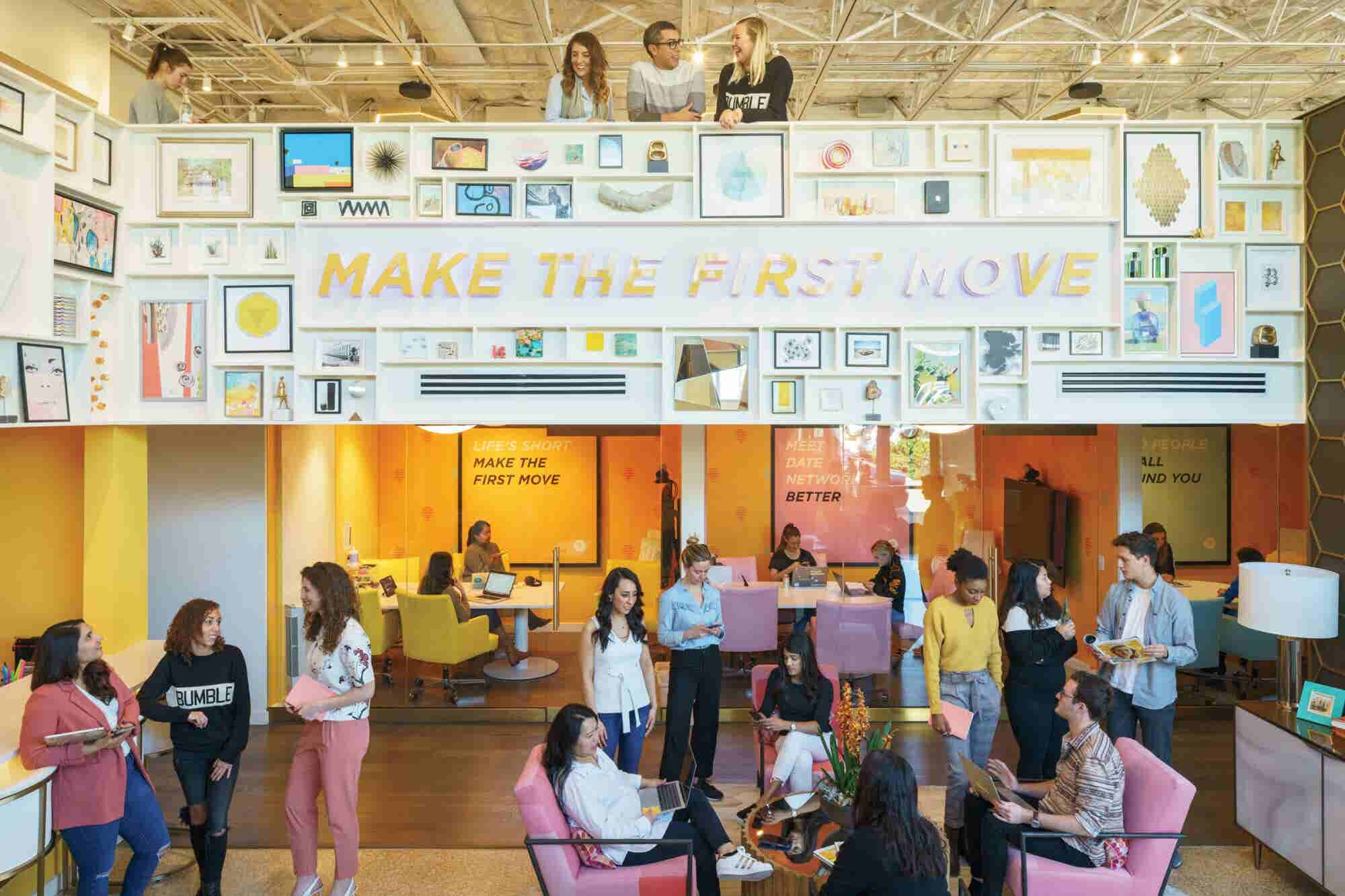 Bumble's Austin Headquarters Is All About Good Vibes
