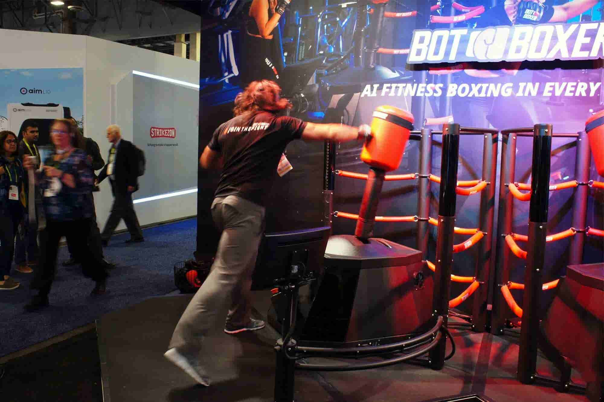 I Just Had My Ass Handed to Me by a Boxing Robot