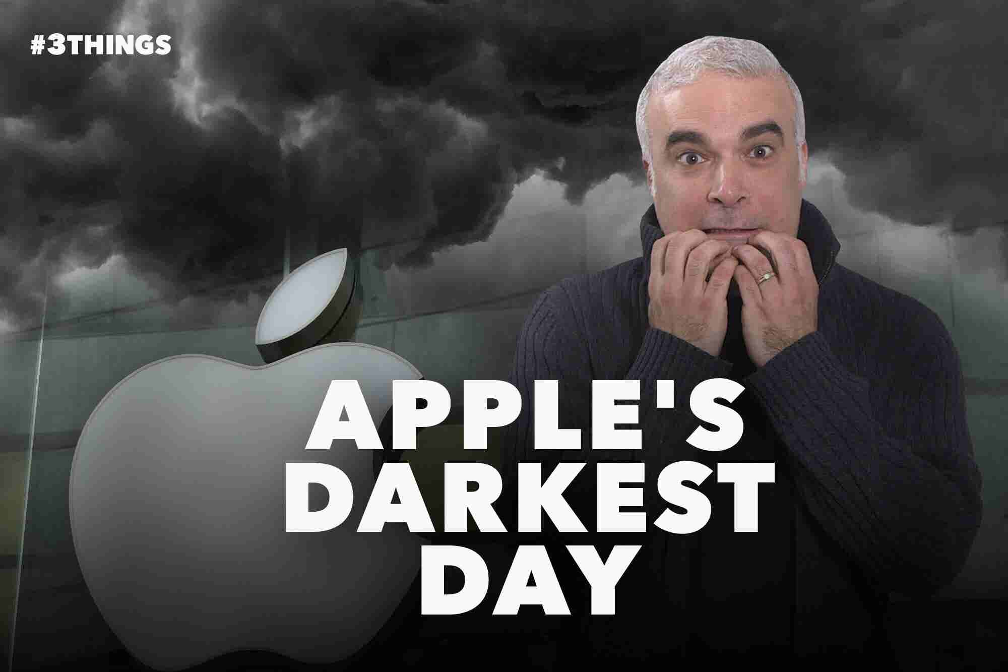 Apple's Darkest Day in the iPhone Era (60-Second Video)