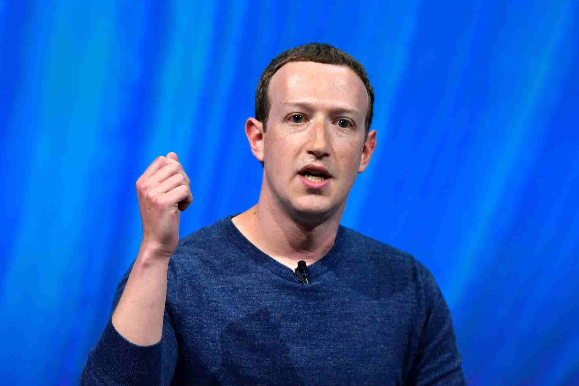 Mark Zuckerberg's 2019 New Year's Resolution Is Well-Meaning and Vague...