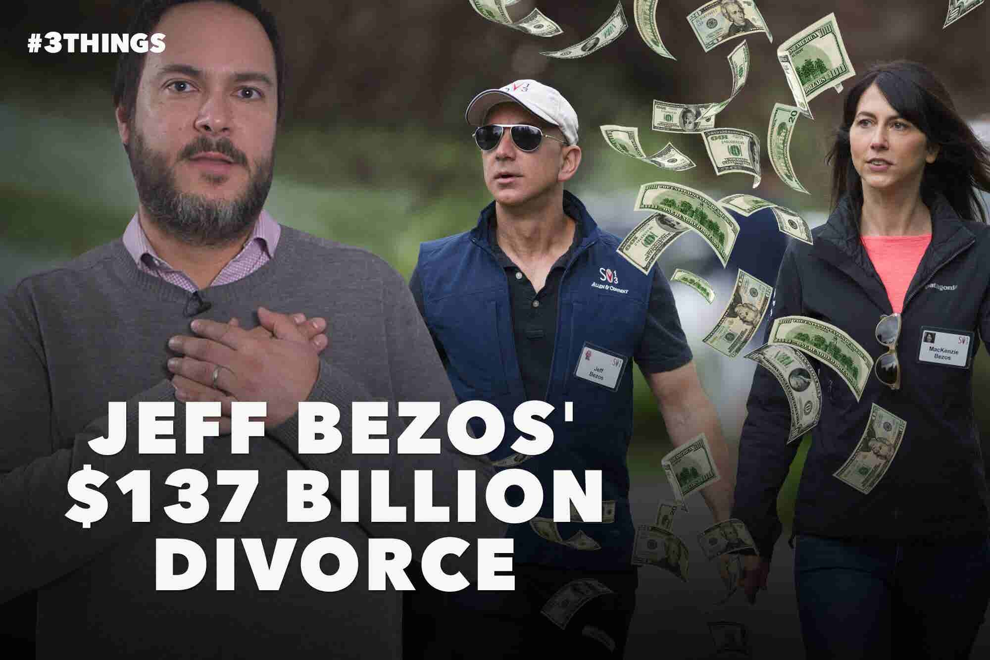 Jeff Bezos' Really Expensive Divorce, the Case Against Inbox Zero, and the First Hostless Oscars in Decades (60-Second Video)