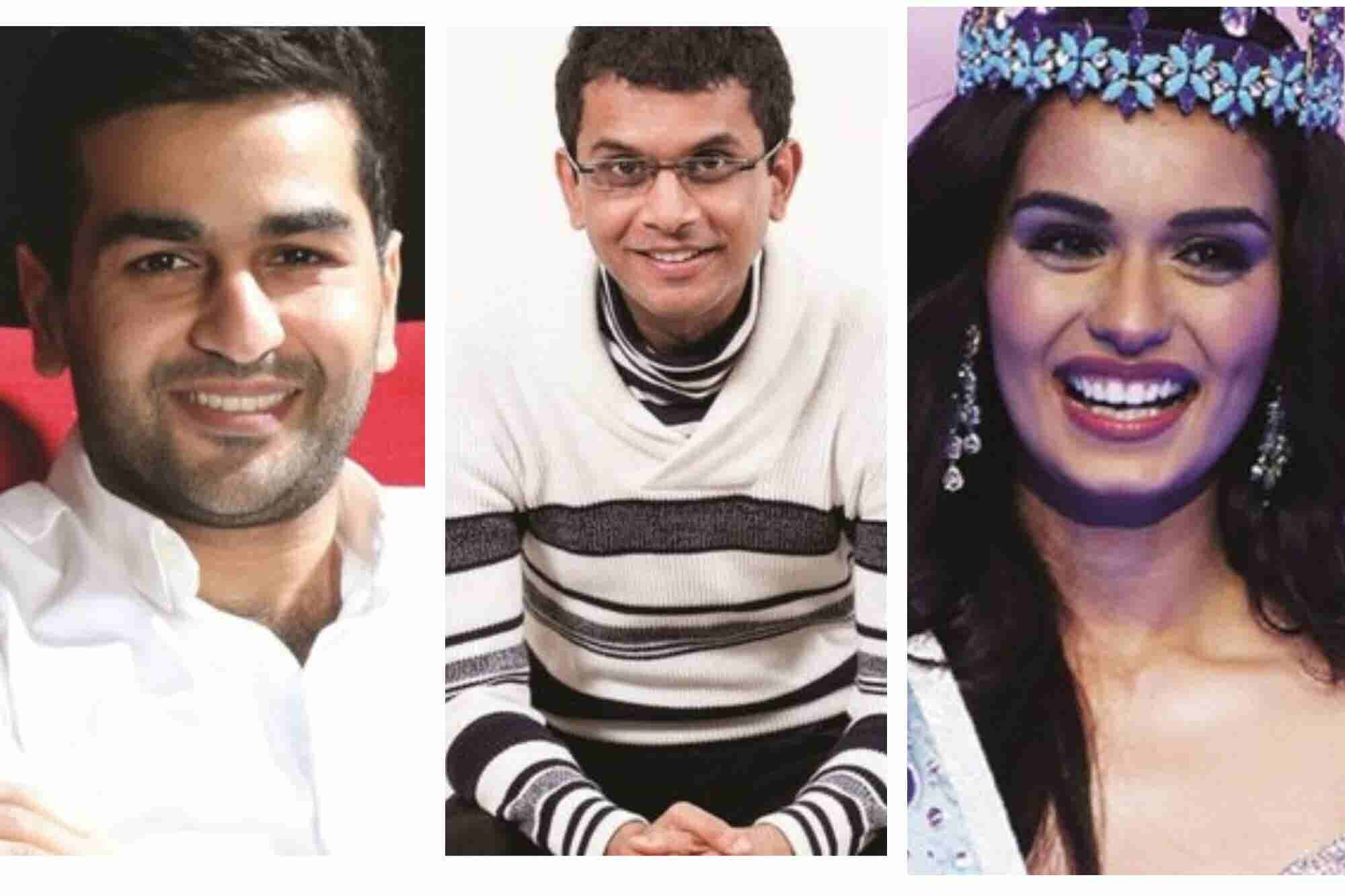 Names that have made it to Entrepreneur's 35U35 List in the Past Years