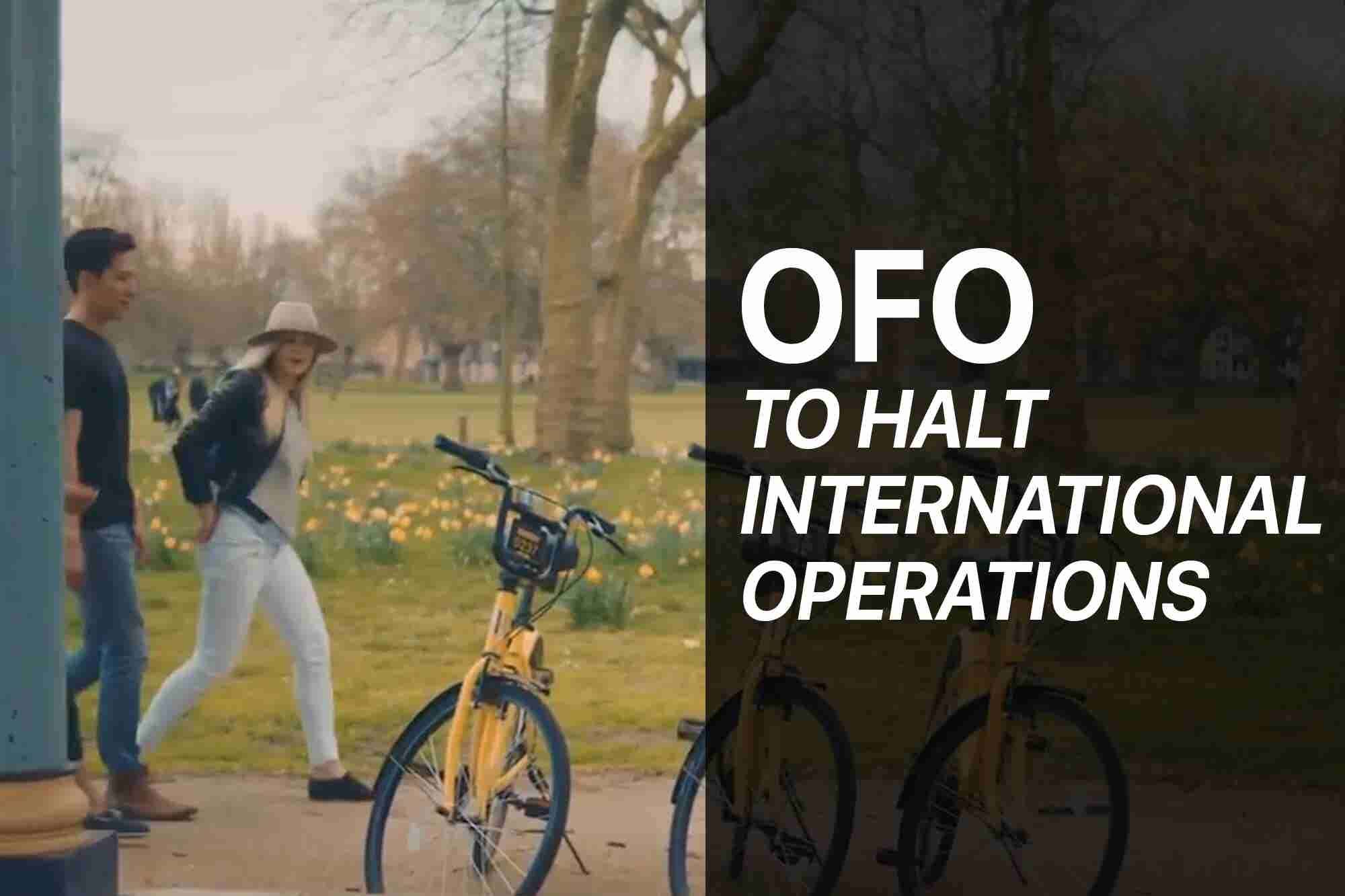 Friday Flashback: China's Ofo to Halt Overseas Operations