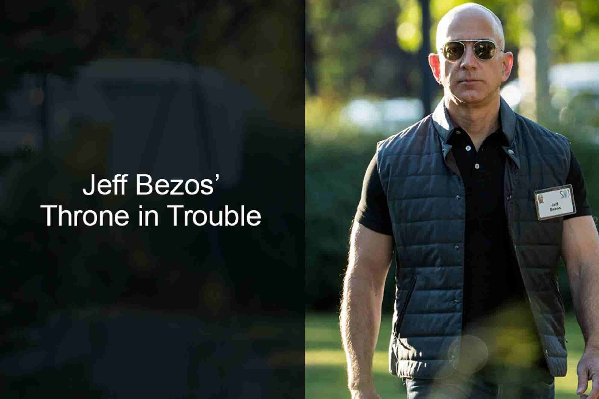 Beyond India: Jeff Bezos' Throne in Trouble & Mark Zuckerberg Takes a Personal Challenge