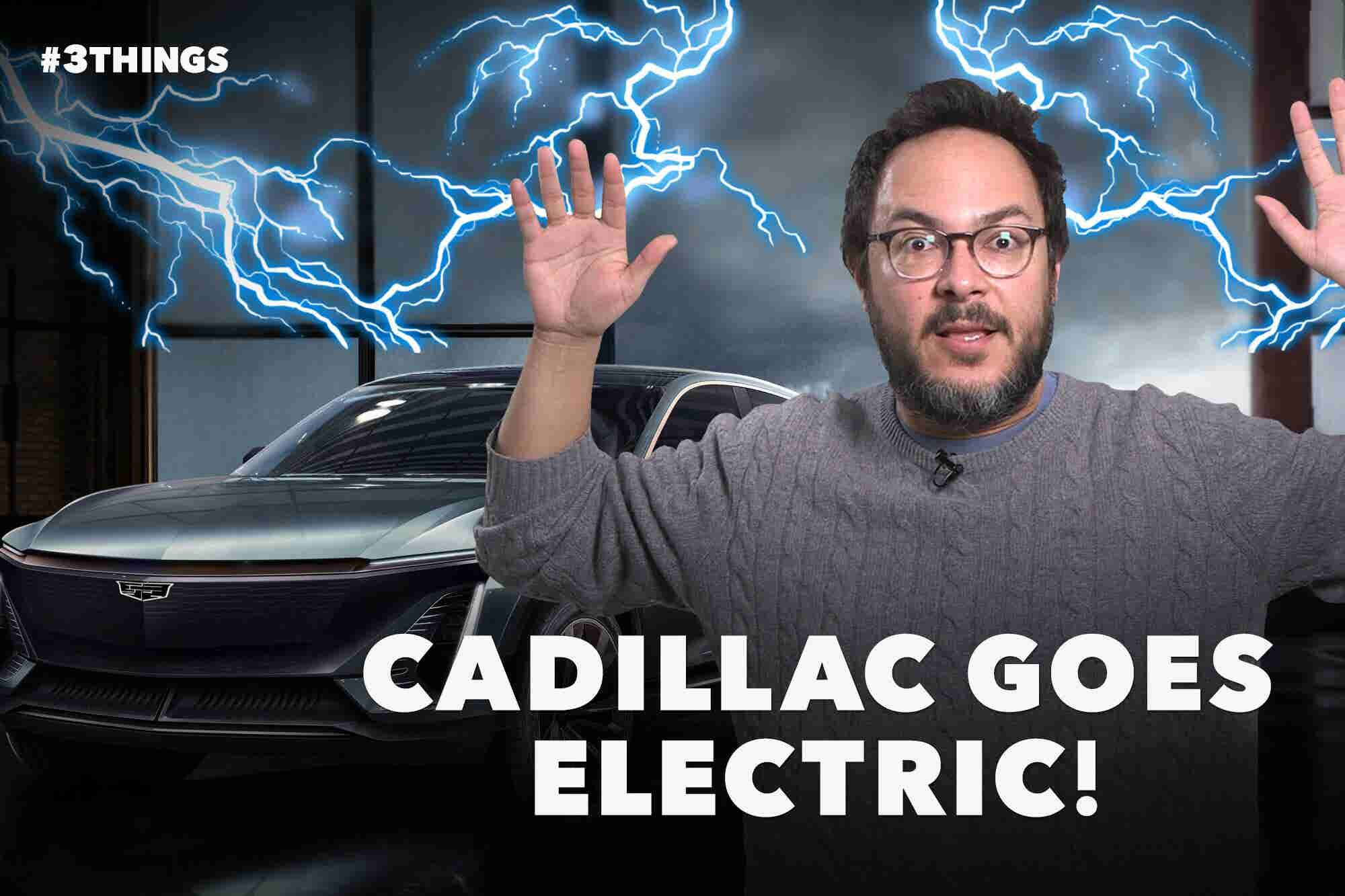 Cadillac Reveals Electric SUV, Choose Your Own Adventure Sues Netflix, and Kylie Jenner Is Beaten by an Egg (60-Second Video)