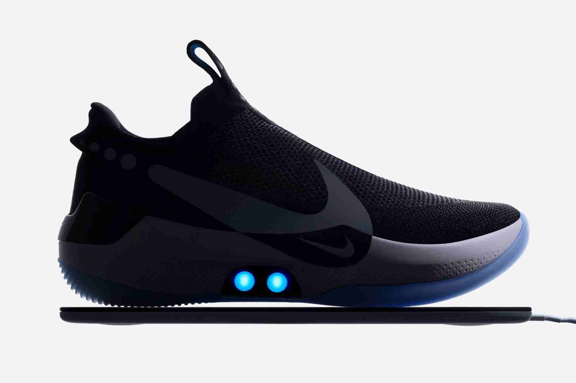 Nike's Adapt BB Is an App-Controlled, Self-Lacing Basketball Shoe
