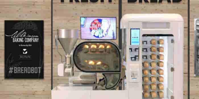 ¿Vas a abrir un negocio de pan? La máquina BreadBot puede ayudarte