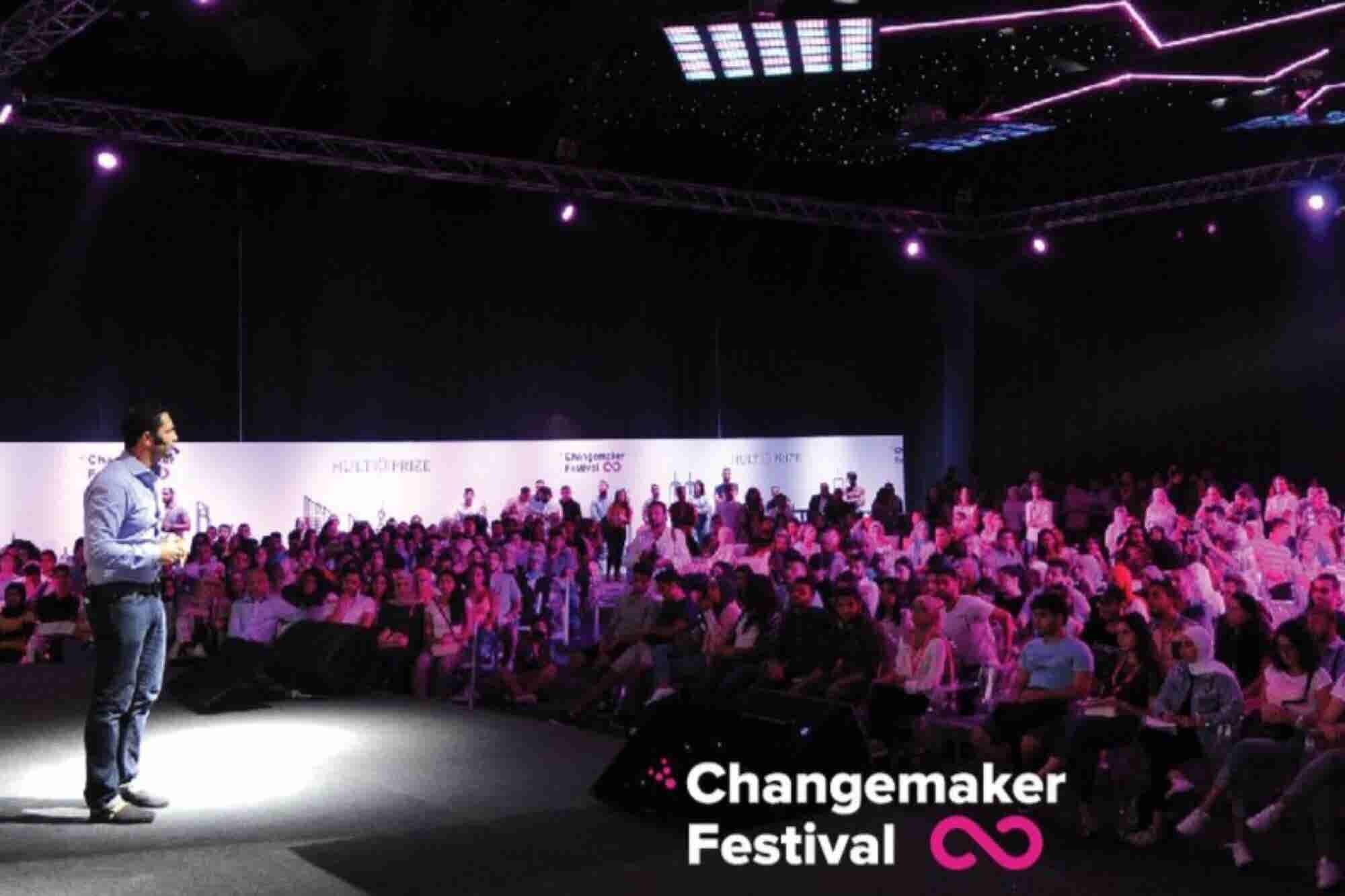 Asiste a Changemaker Festival, el evento donde surgen los próximos héroes que salvarán el mundo