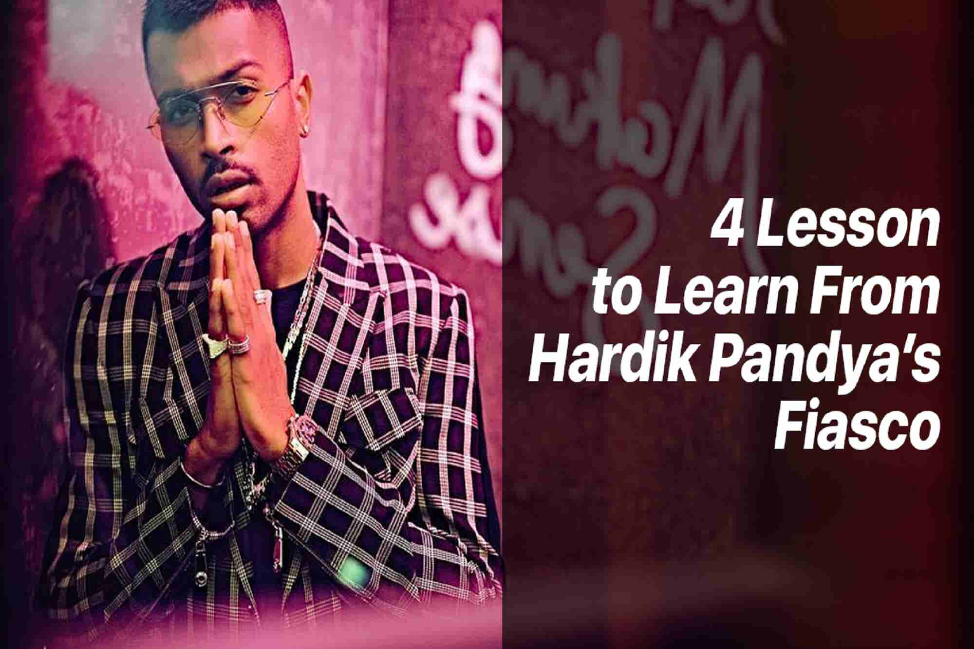 Wednesday Wisdom: 4 Lessons to Learn From Hardik Pandya's Unfortunate...