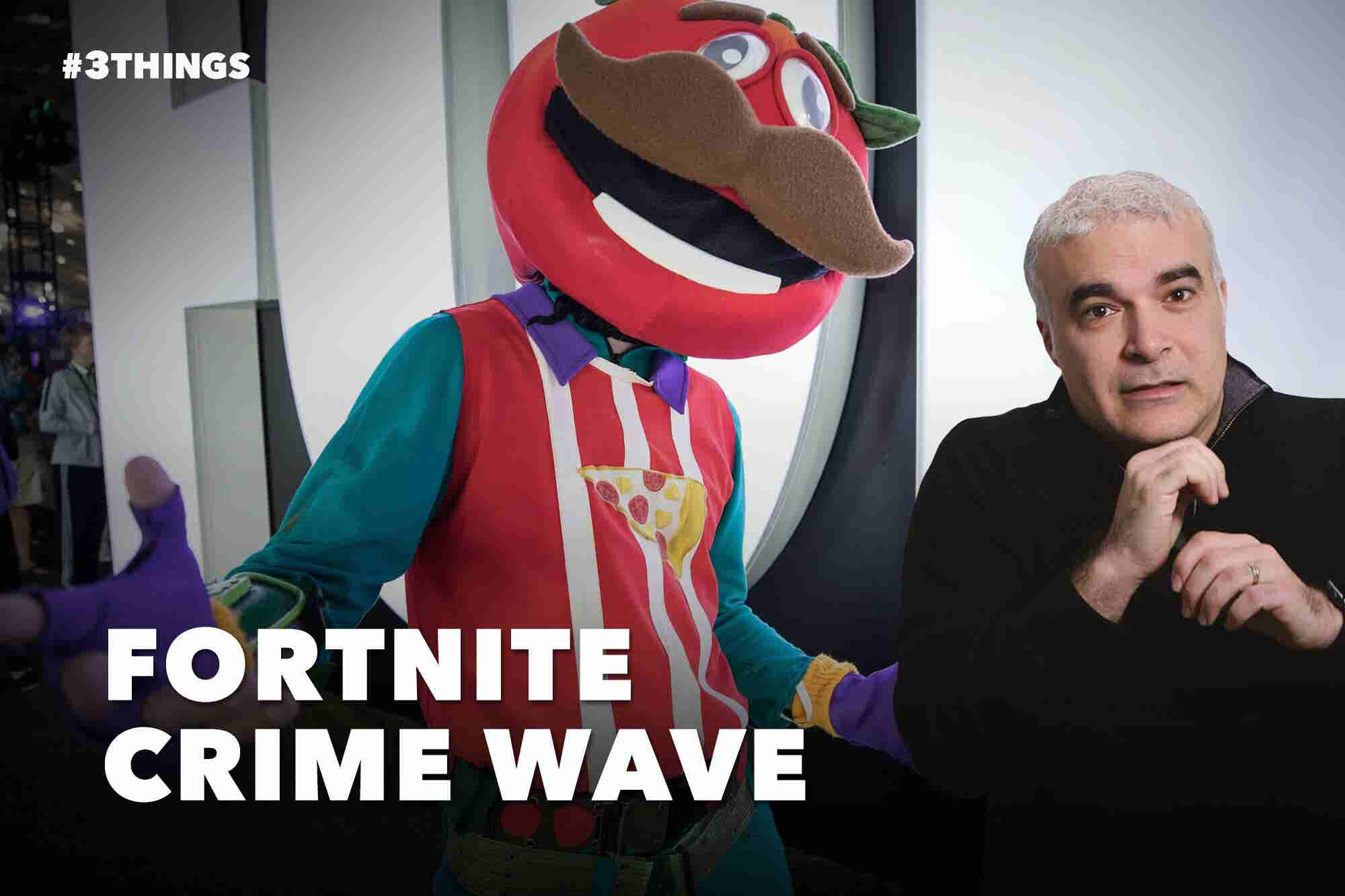 Fortnite's Real-Life Crime Wave (60-Second Video)