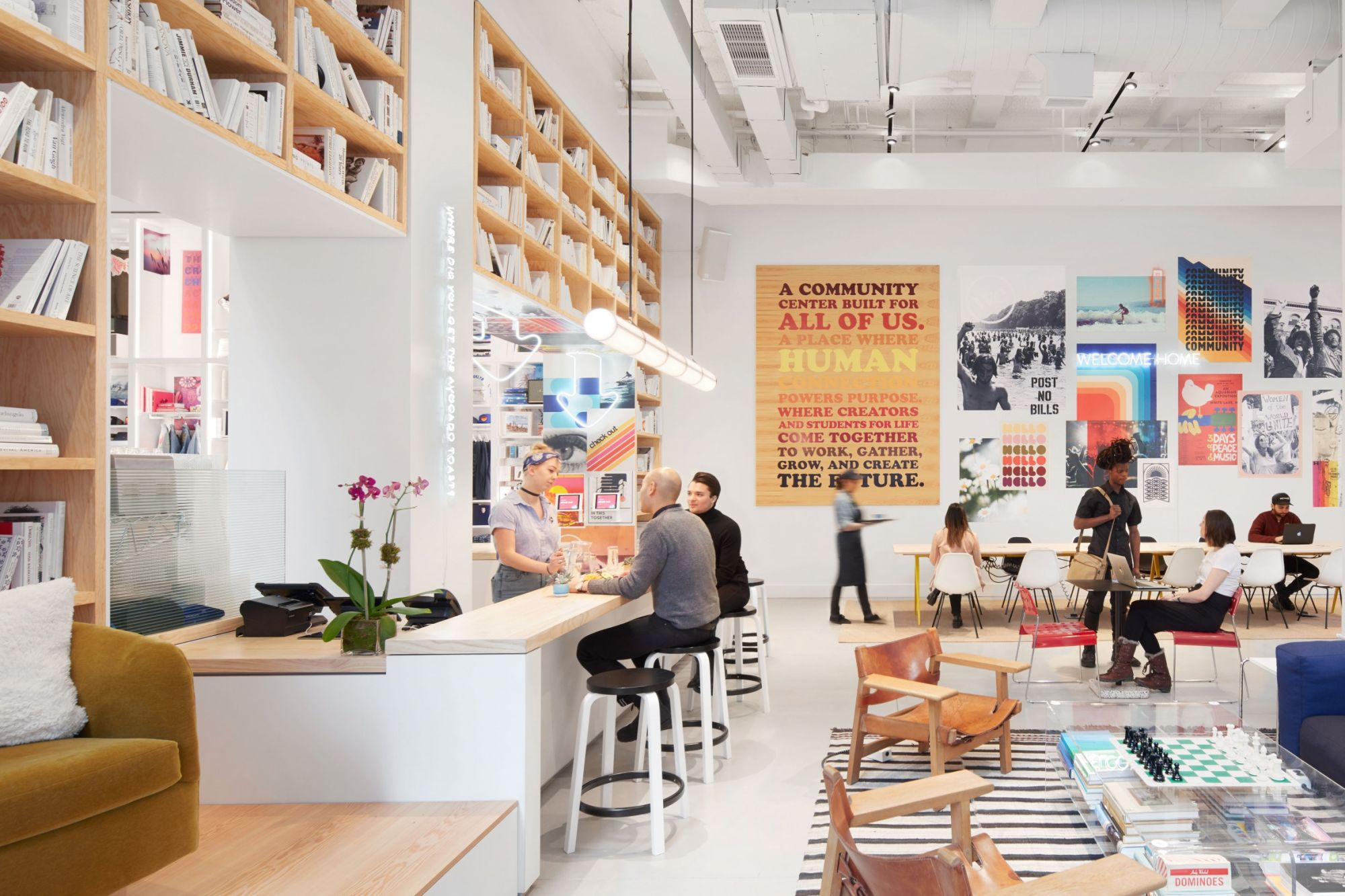 coworking space behemoth wework launches retail and. Black Bedroom Furniture Sets. Home Design Ideas