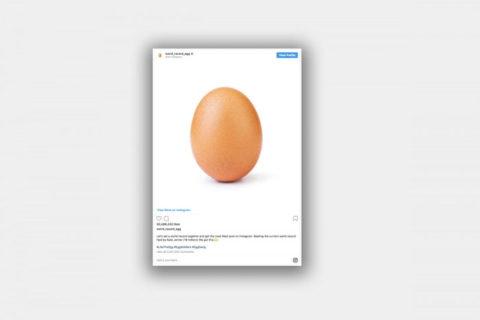 What a Record-Breaking 'Egg' and Its Title of Most-Liked Instagram Post Ever Can Teach Us
