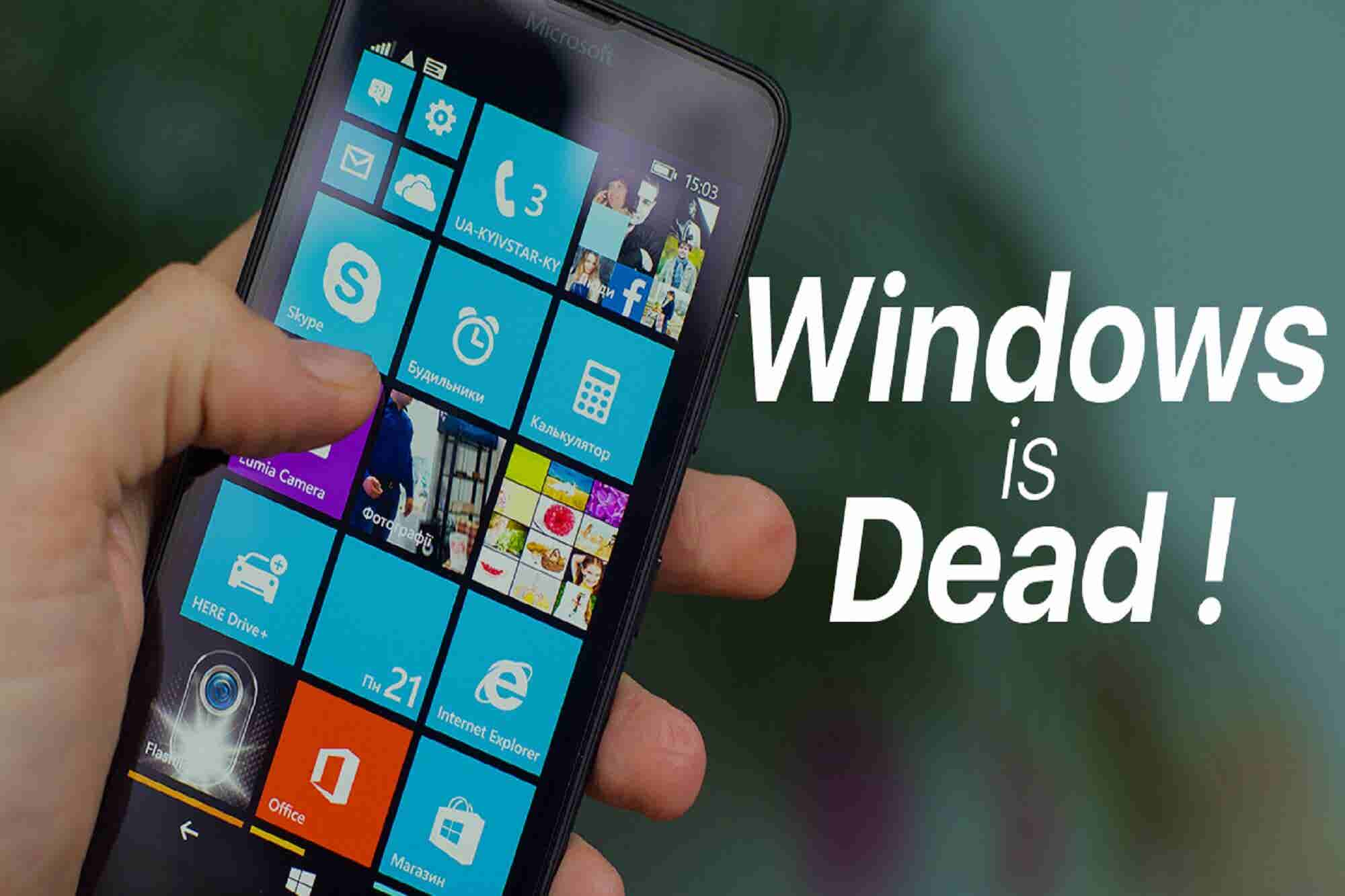 Techie Tuesday: Window is Dead Again & Samsung is Unhappy With Govt's PMP