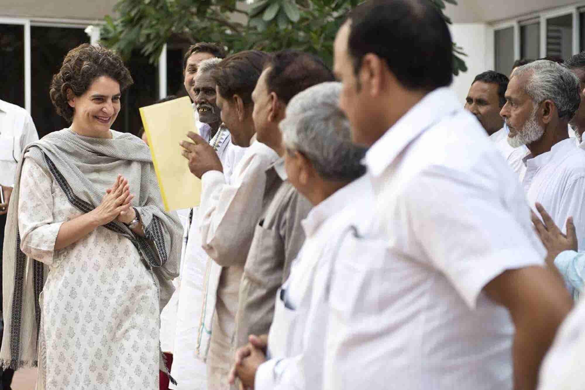 Priyanka Gandhi Takes a Political Plunge