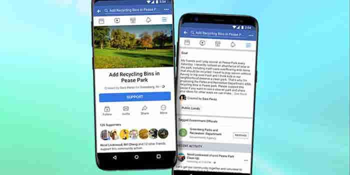Facebook se meterá más en la política con su nueva herramienta 'Acciones Comunitarias'