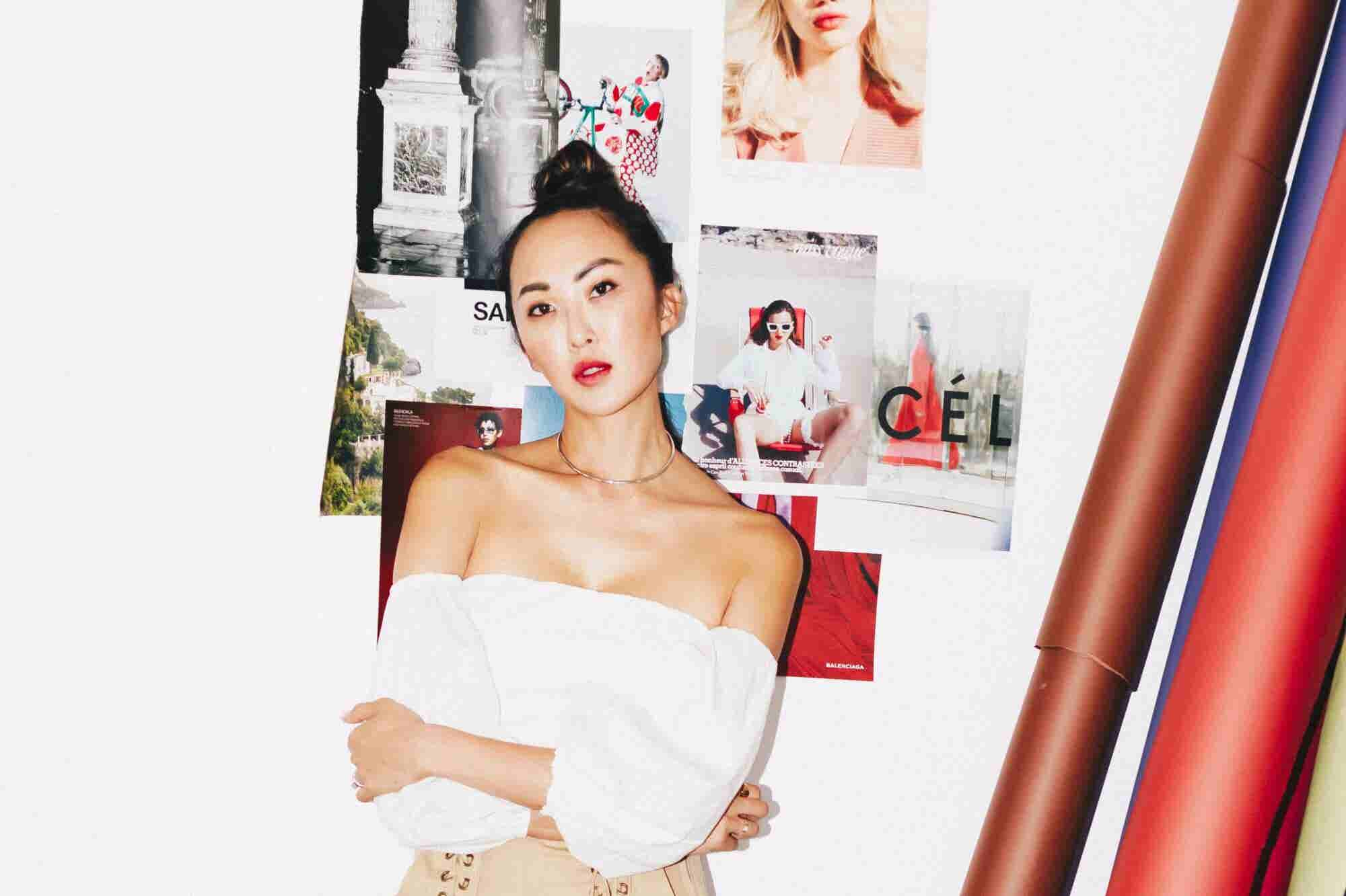 Chriselle Lim Started Out as a Wardrobe Stylist. Now She Has More Than 3 Million Social Media Followers.
