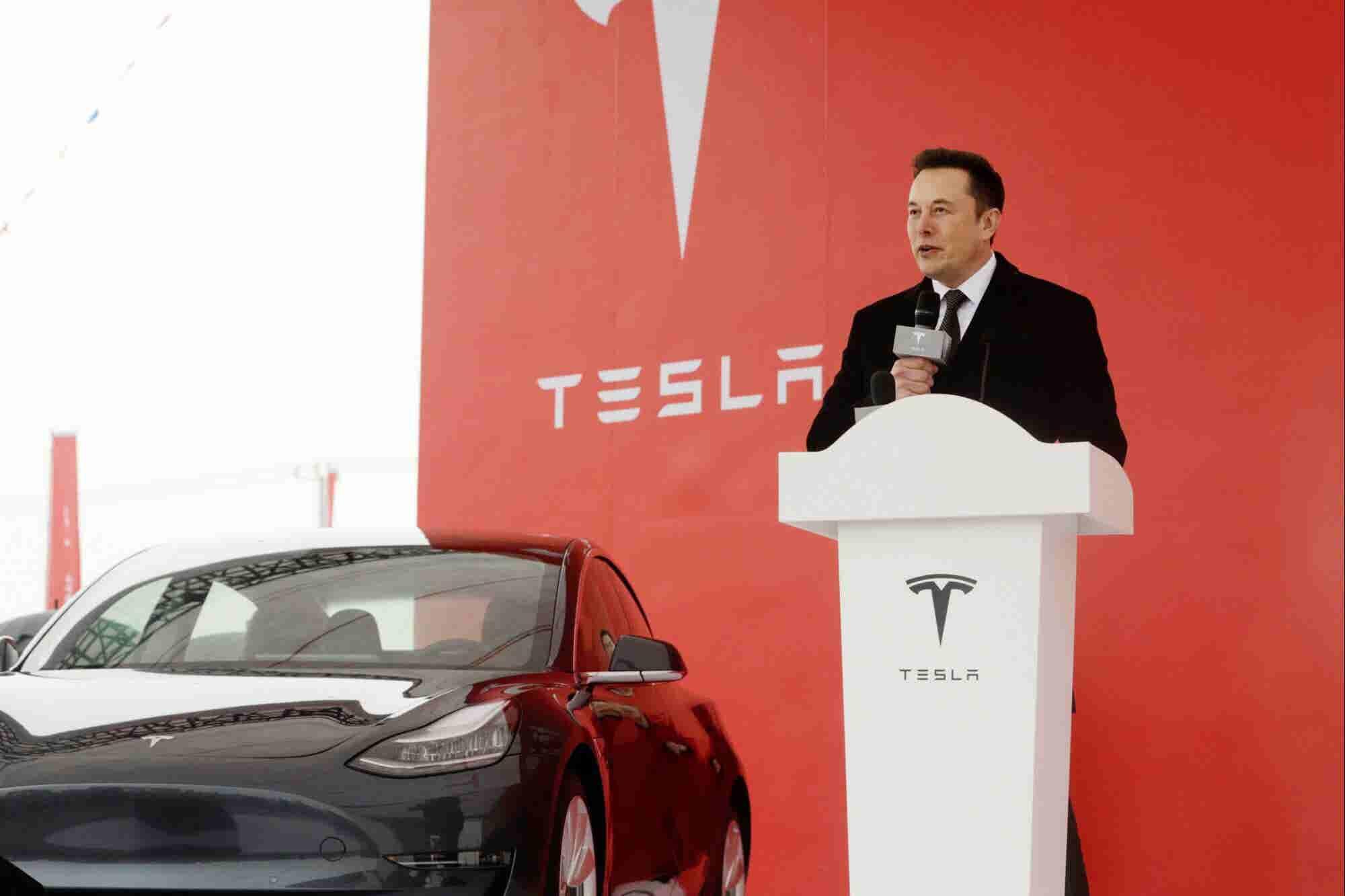 Tesla Shares Continue to Slide After Elon Musk Announces Job Cuts