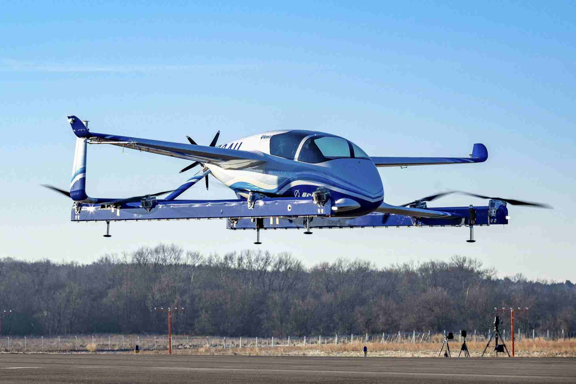 Boeing Successfully Tests 'Flying Car'