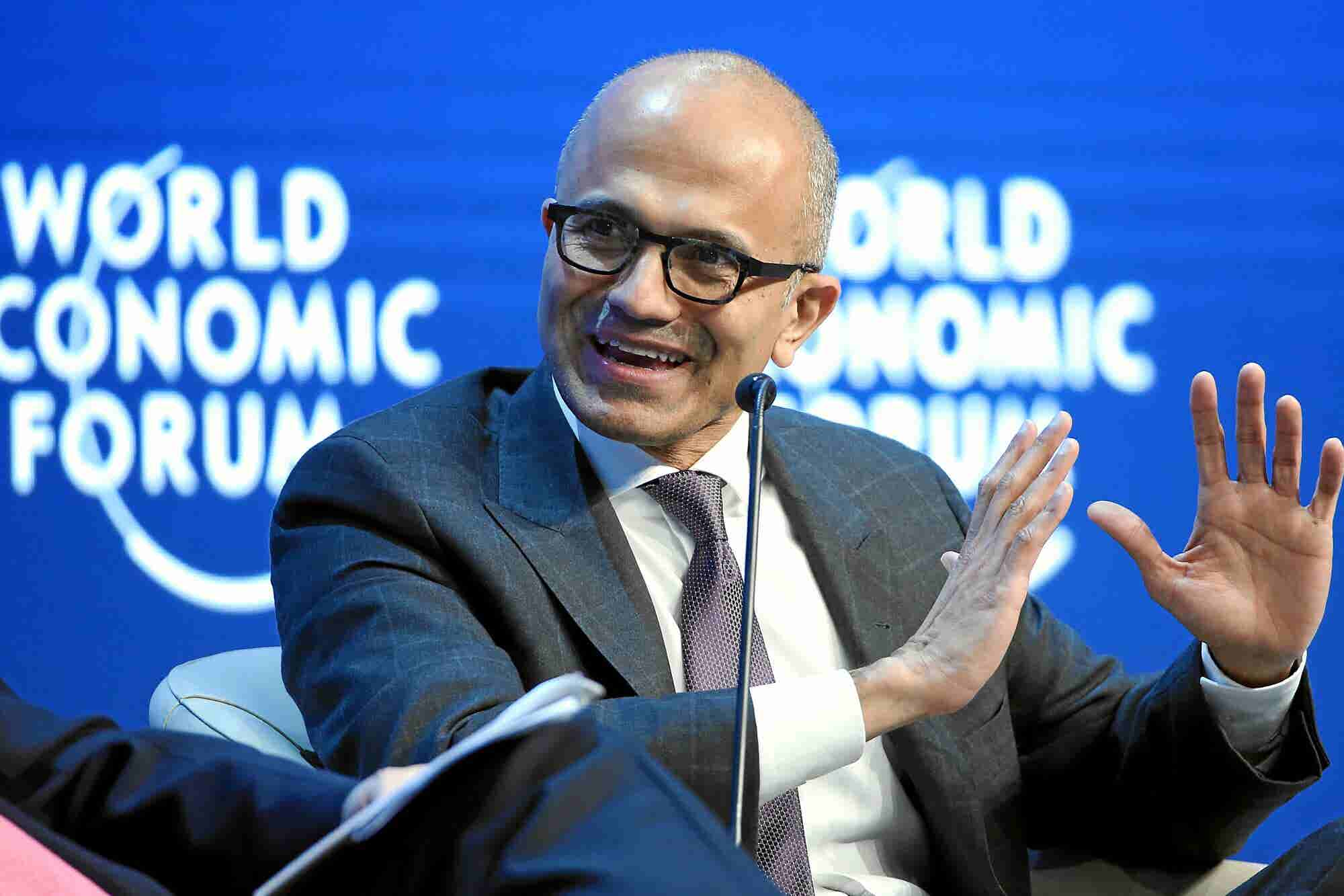 The Two Ds of Growth, According to Microsoft Boss Satya Nadella