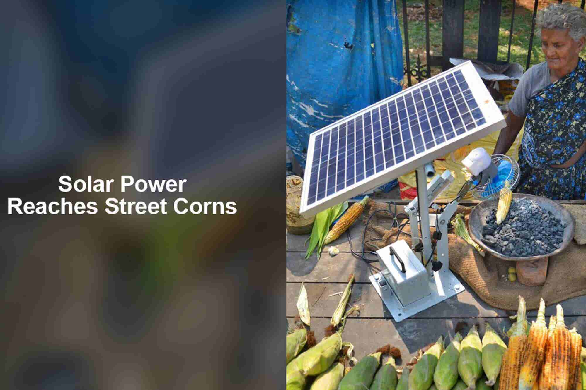 Monday Musings: Solar POWERS Street Corn & Automakers Take Electric Mobility Seriously!