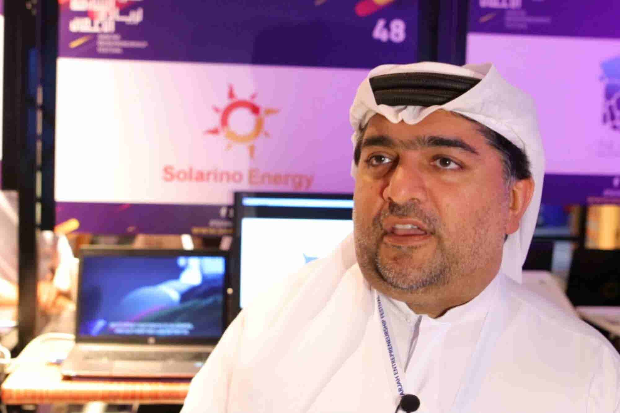 Solarino Energy Solutions' Yaqoub Abdalla Alali Commends Ecosystem Supporters