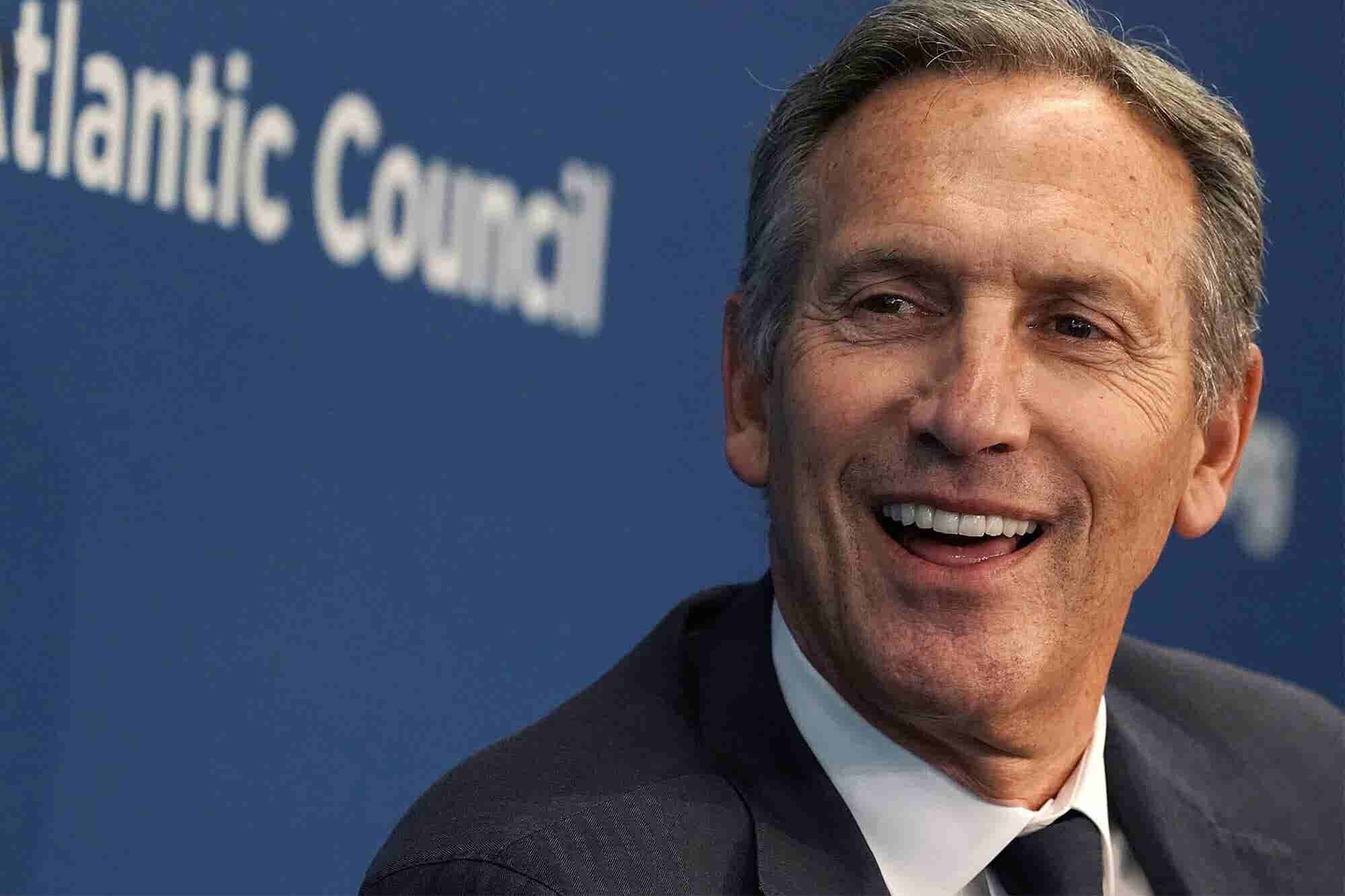 Former Starbucks CEO Howard Schultz Says He's Considering a 2020 Run '...