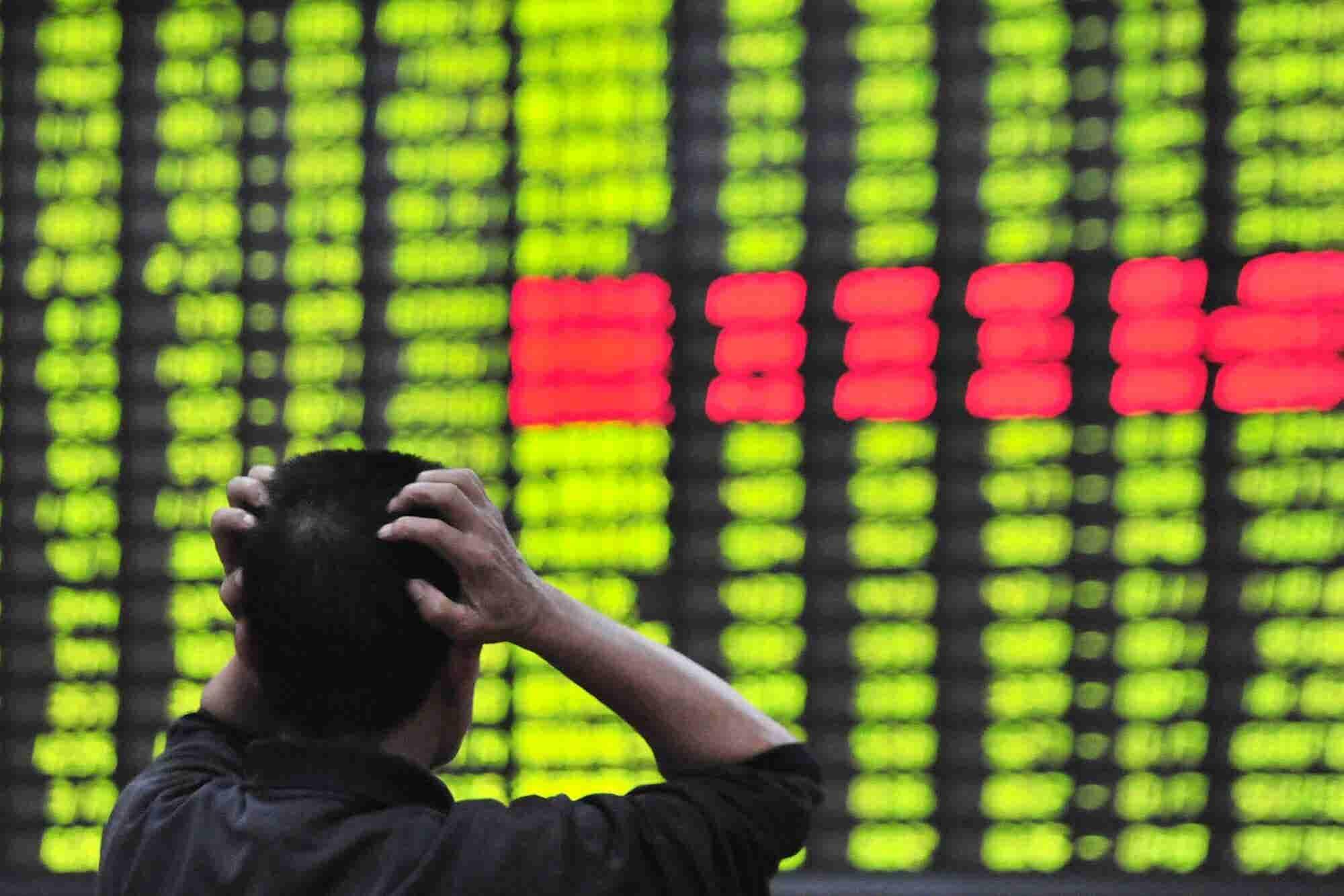 Weak Chinese Economy Hits the Stock Market Where It Hurts