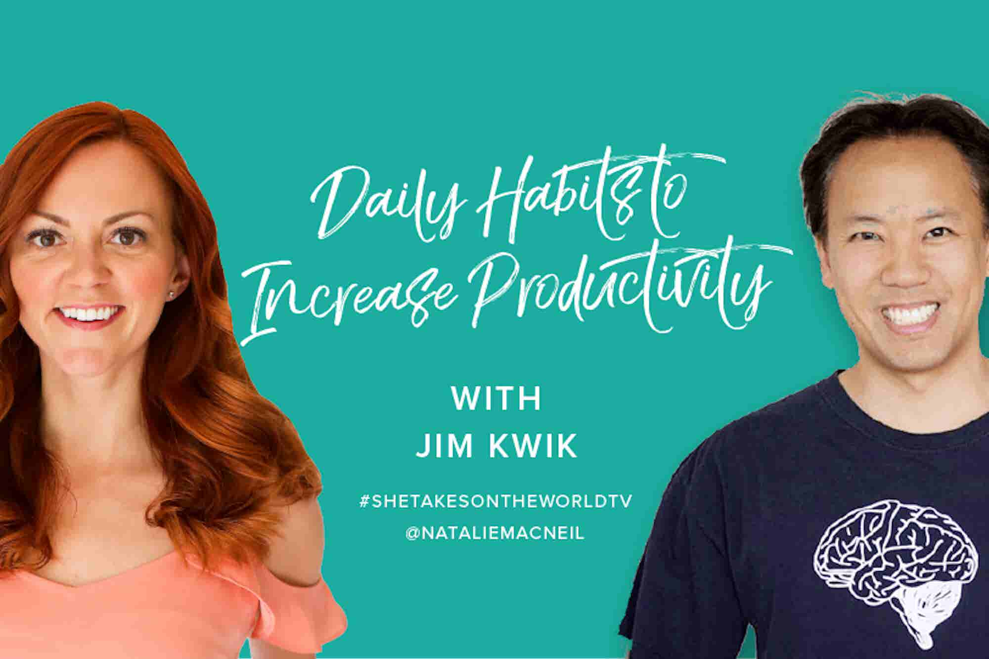 Daily Habits That Will Help Increase Productivity